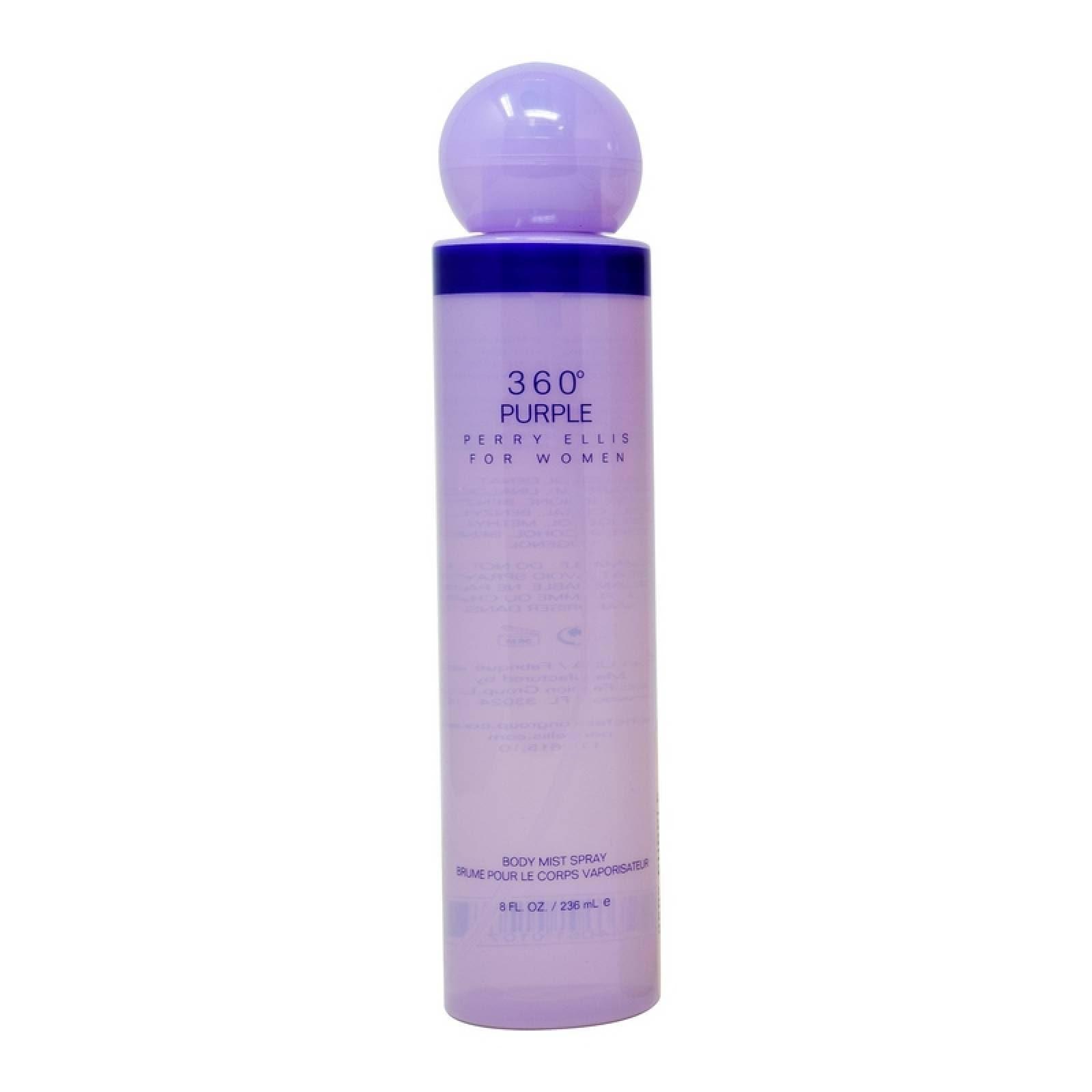 360° Purple 236 ml Body Mist Spray de Perry Ellis