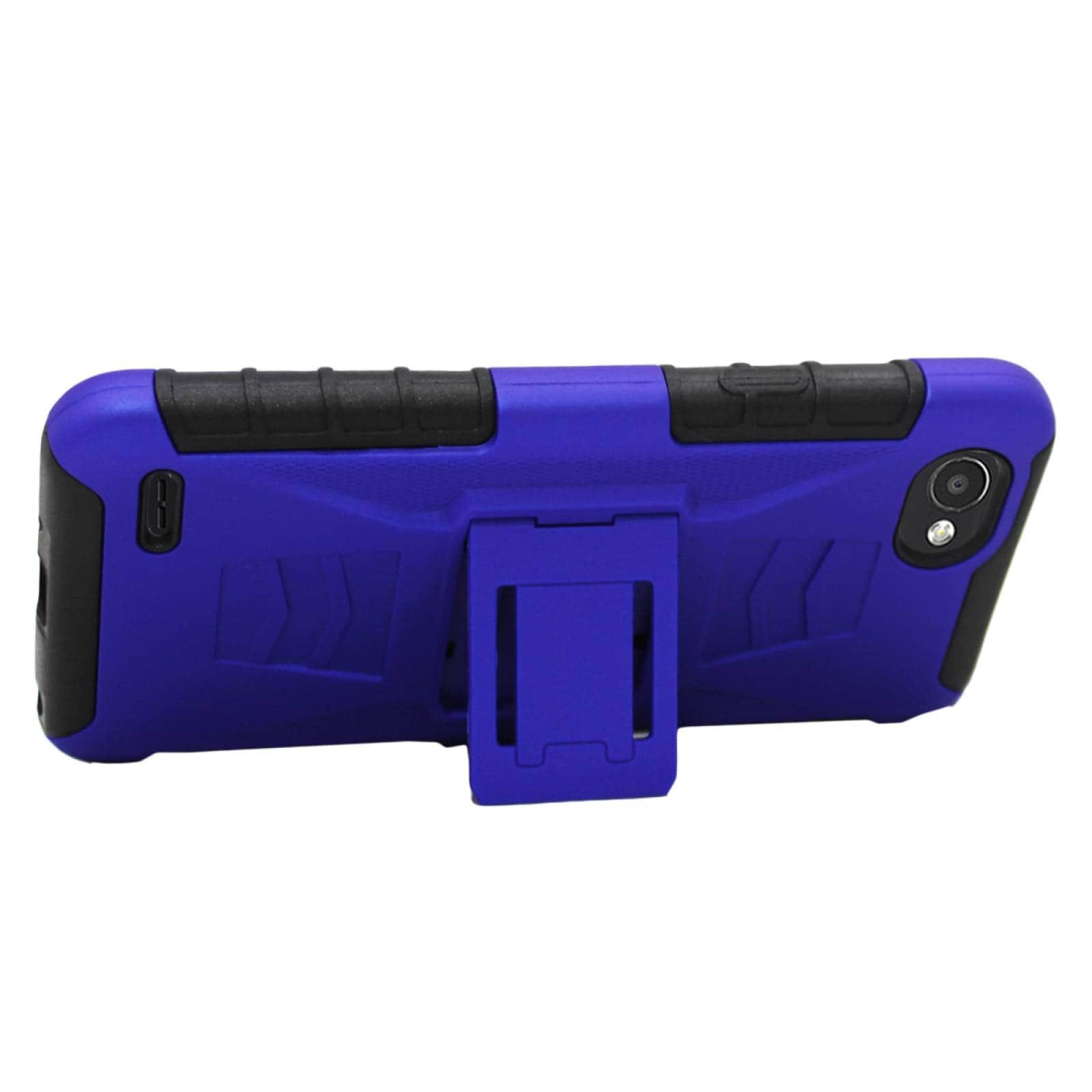 Funda 3 en 1 LG Q6 Prime M700H Clip Case Uso Rudo Iron Bear