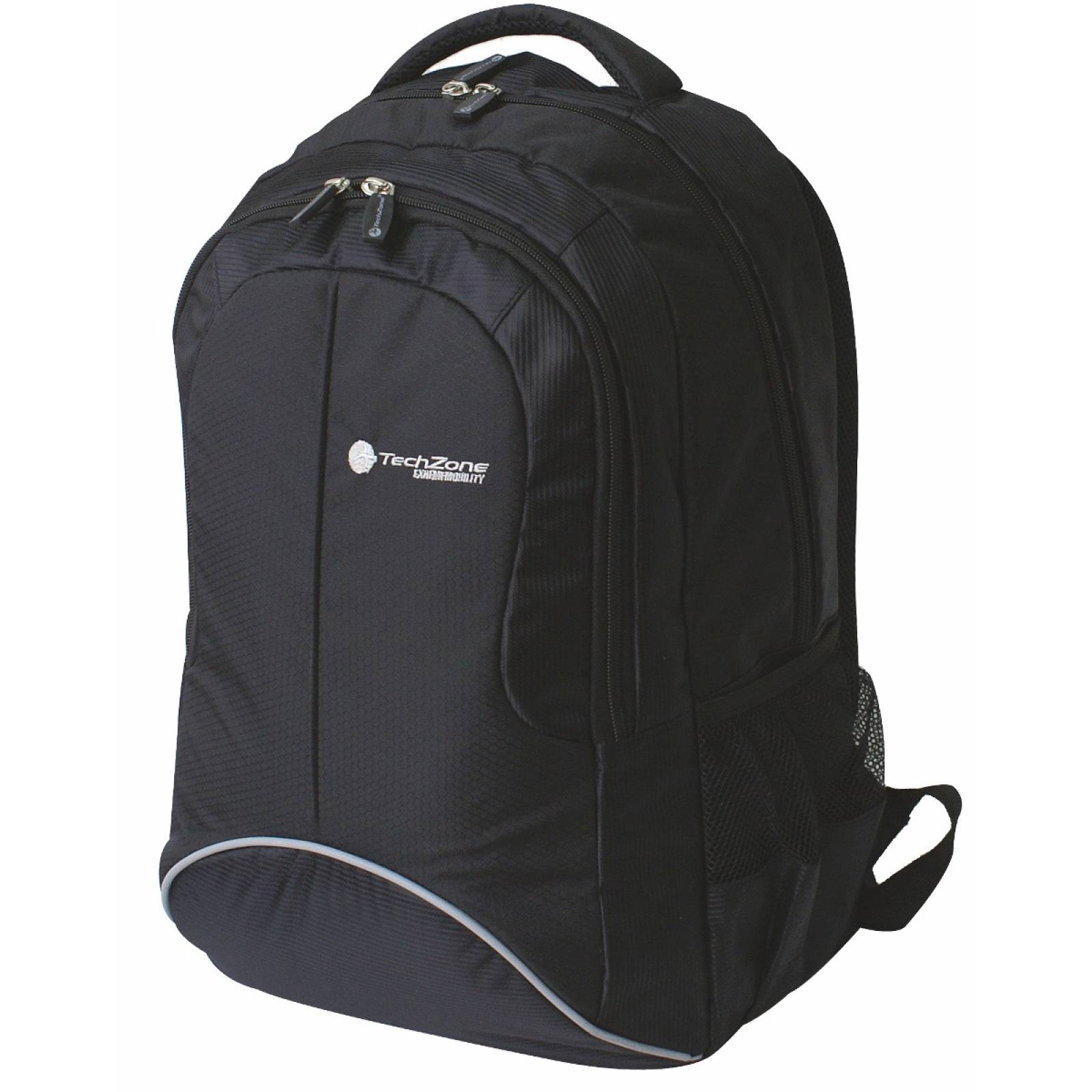 Laptop Back Pack Techzone Negro Tzbts10blk