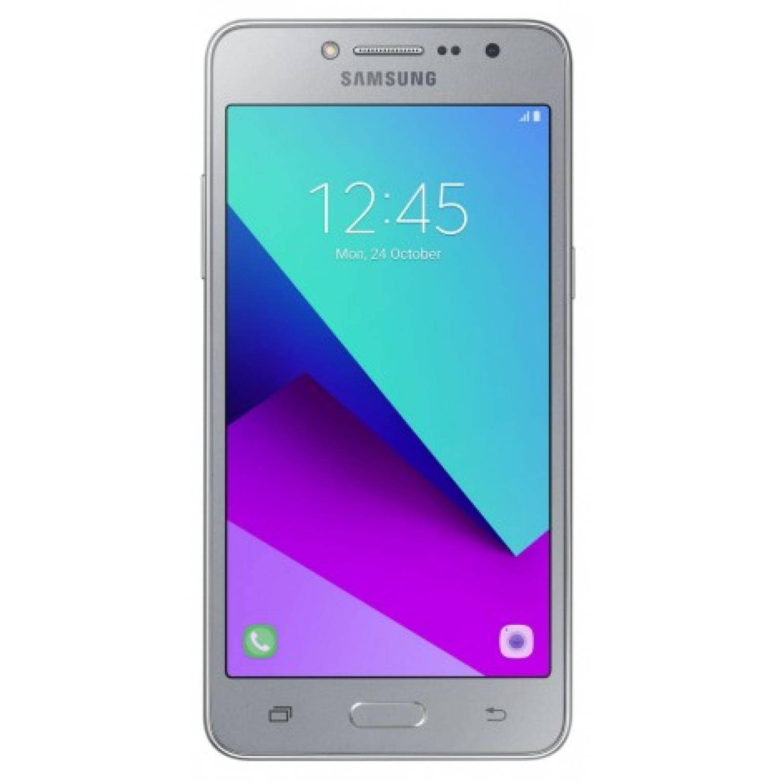 Celular LTE 16GB GALAXY GRAND PRIME + Color Plata (Telcel)
