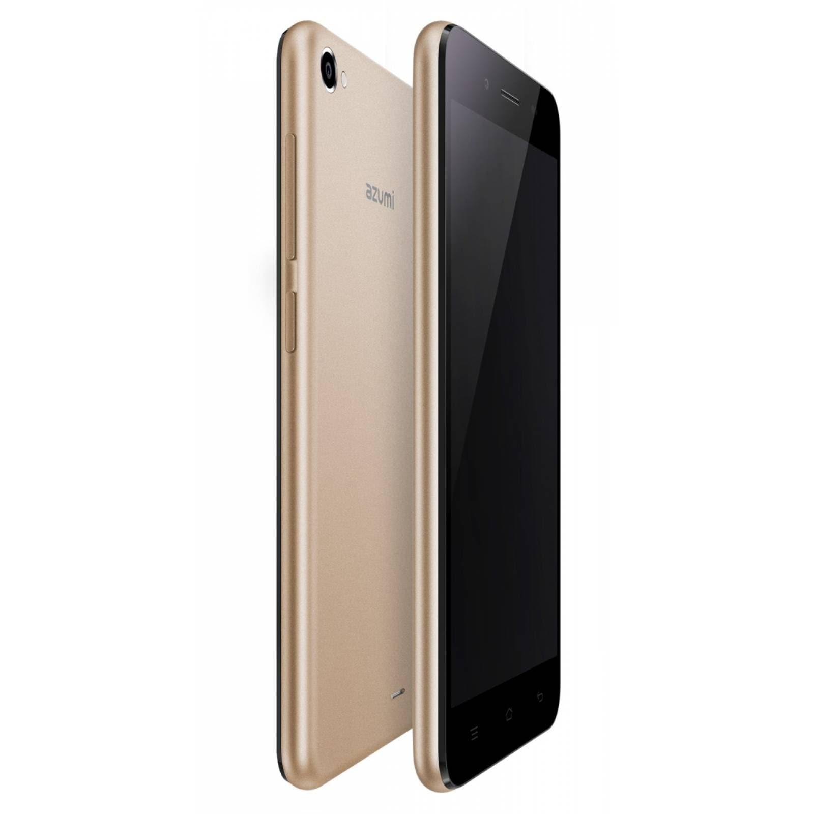 Celular AZUMI LTE A50LT DORADO Telcel