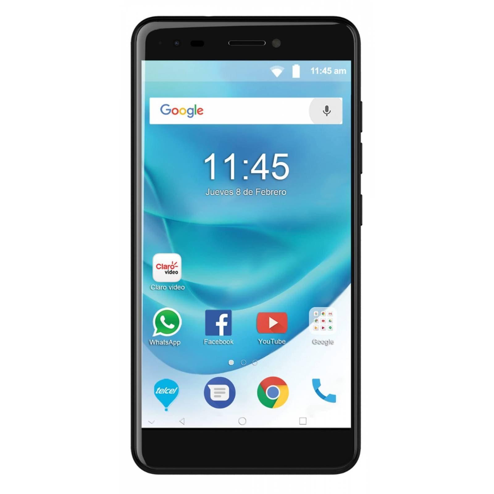 Celular ZTE 4G BLADE A6 MAX Color NEGRO Telcel