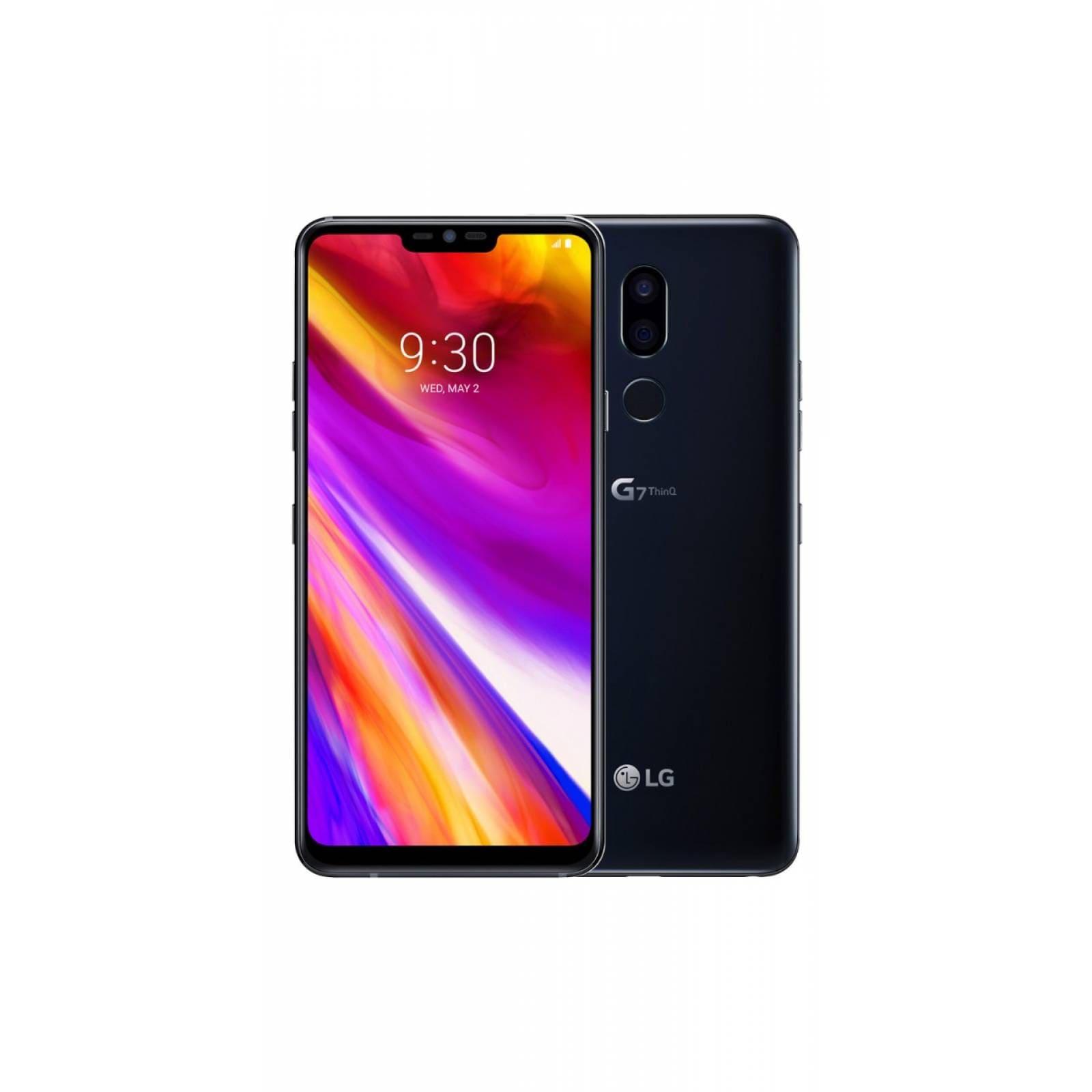 Celular LG LTE LM-G710AWM G7 THINQ Color NEGRO Telcel