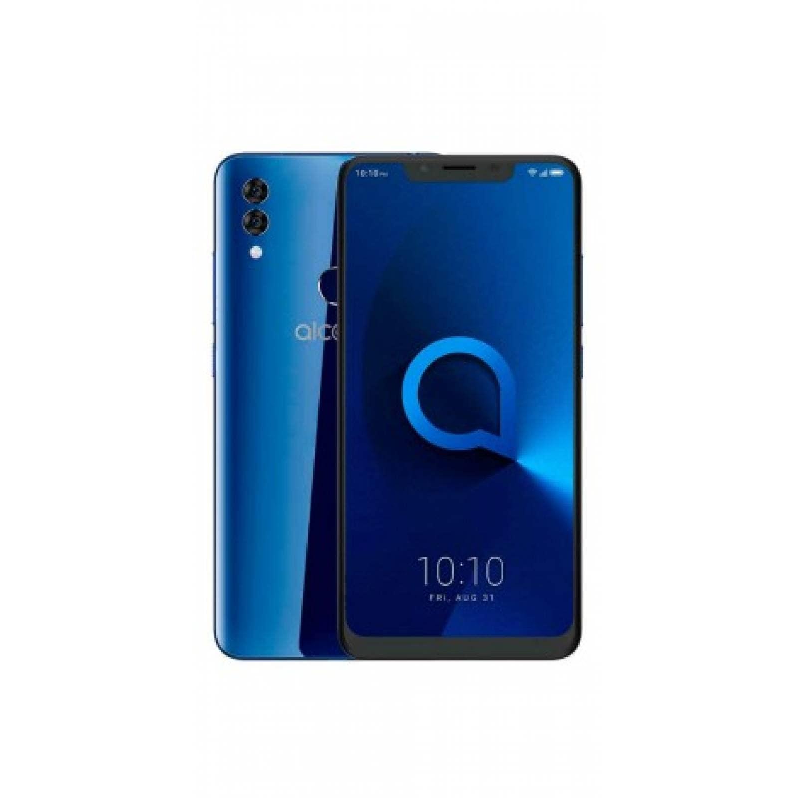 Celular ALCATEL LTE 5060A 5V Color AZUL Telcel