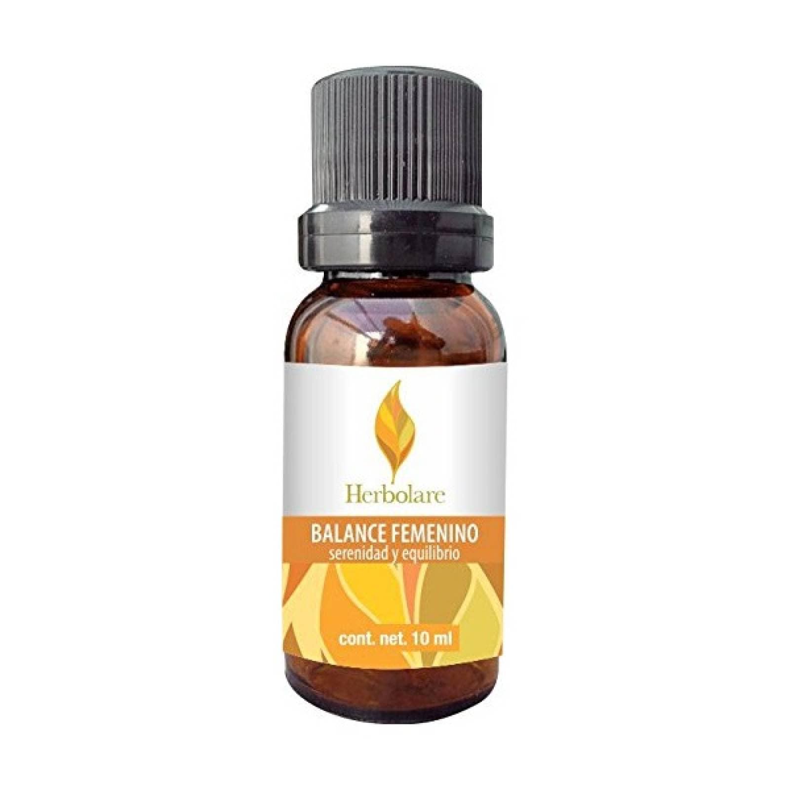 Aceite Incienso Balance Femenino 10ml Relajante Herbolare
