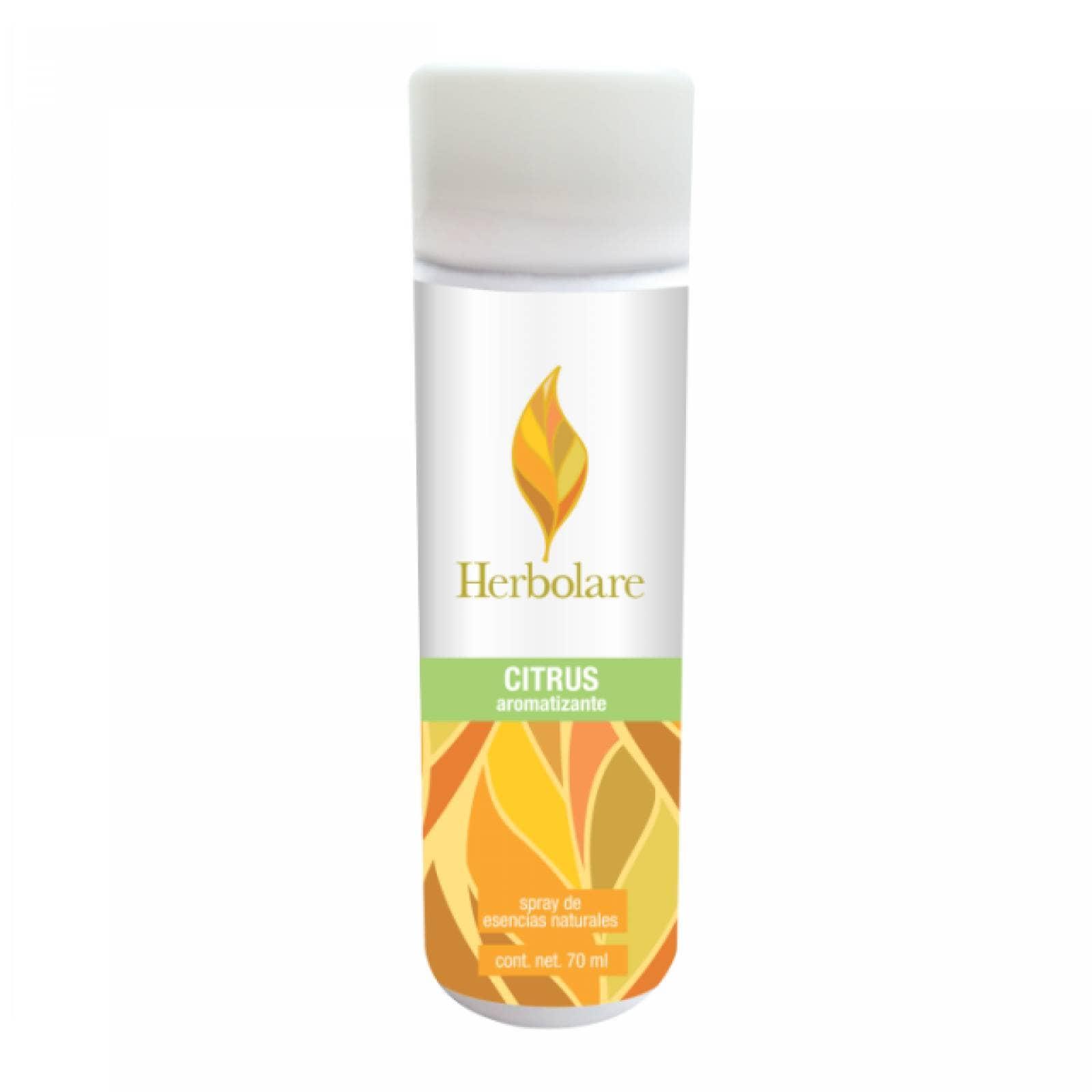 Spray Aromatizante Citrus 70ml Esencia Natural Herbolare