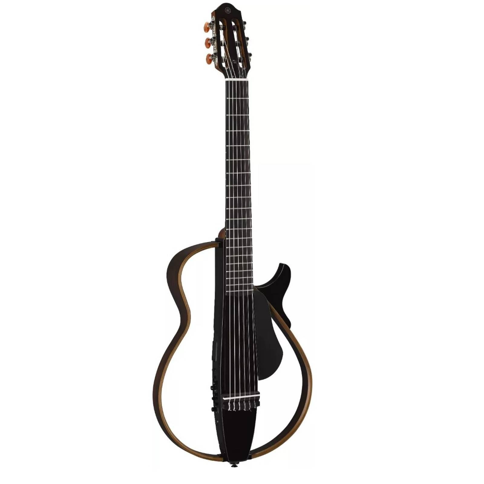yamaha guitarra silent slg200n negro cuerdas de nylon