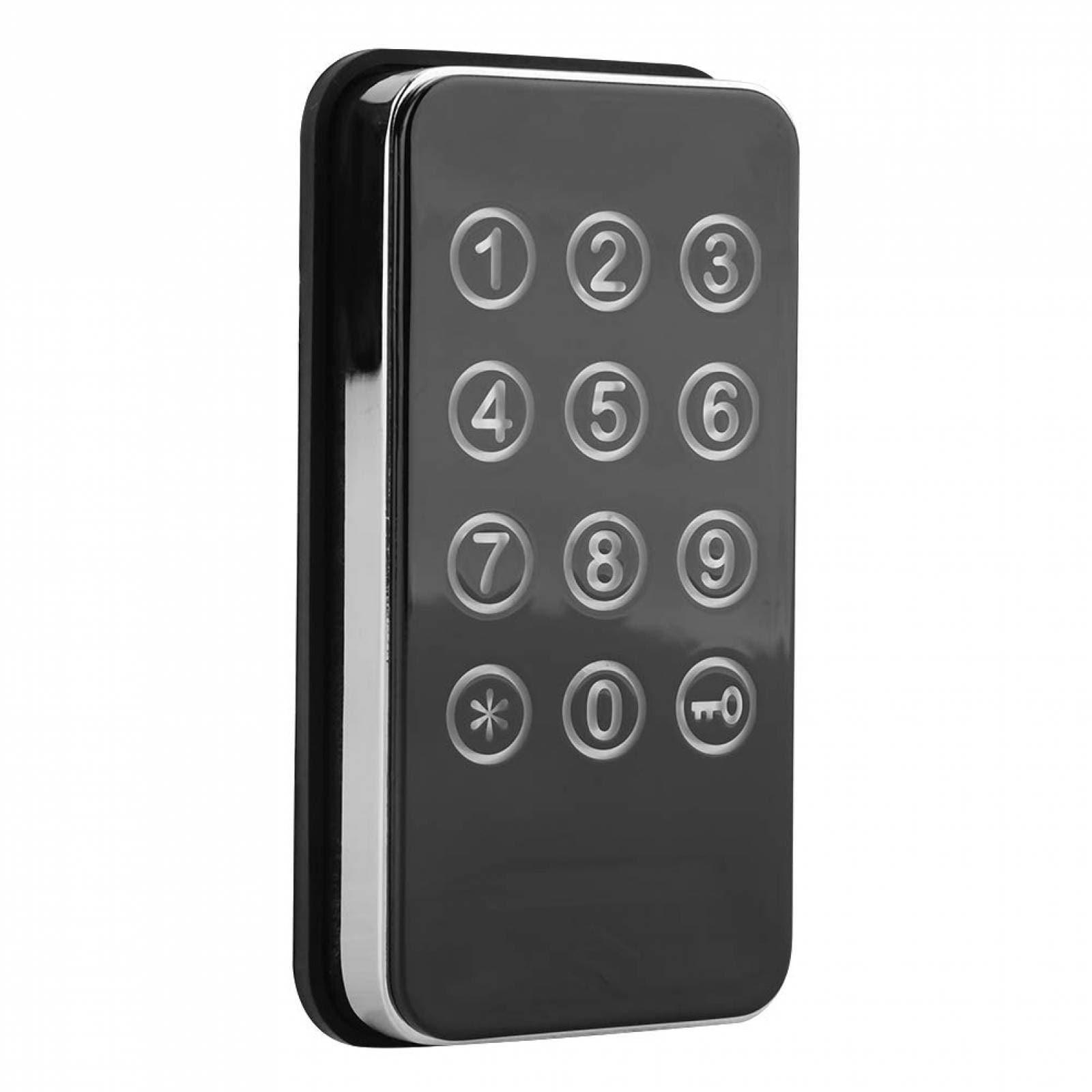 Teclado mecánico sin llave de plata de la contraseña de código digital Cerradura de puerta para oficina Gat