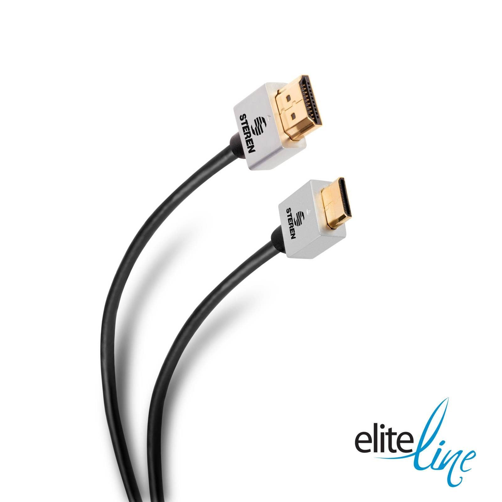 Cable Elite 4K mini HDMI  a HDMI  ultra delgado, de 1,8m