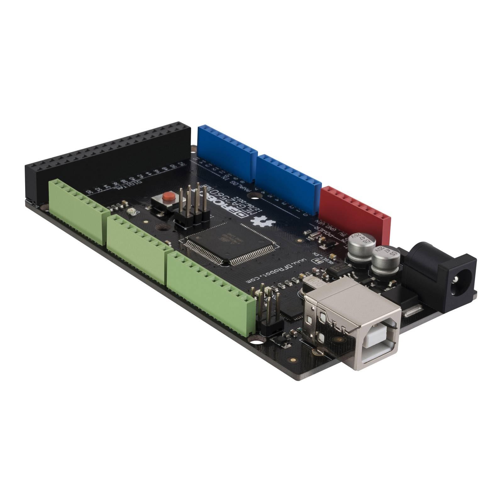 Placa con sistema Arduino MEGA