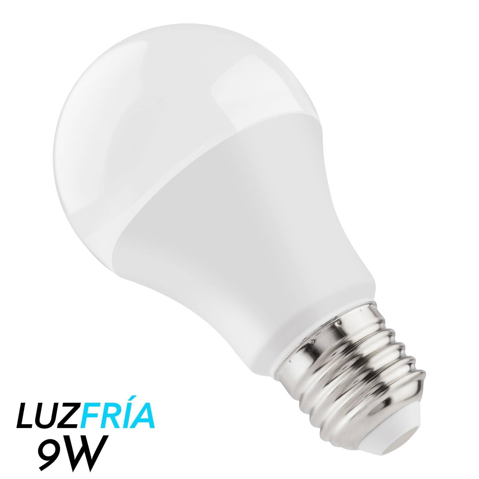 Foco LED de luz fría, 9 W