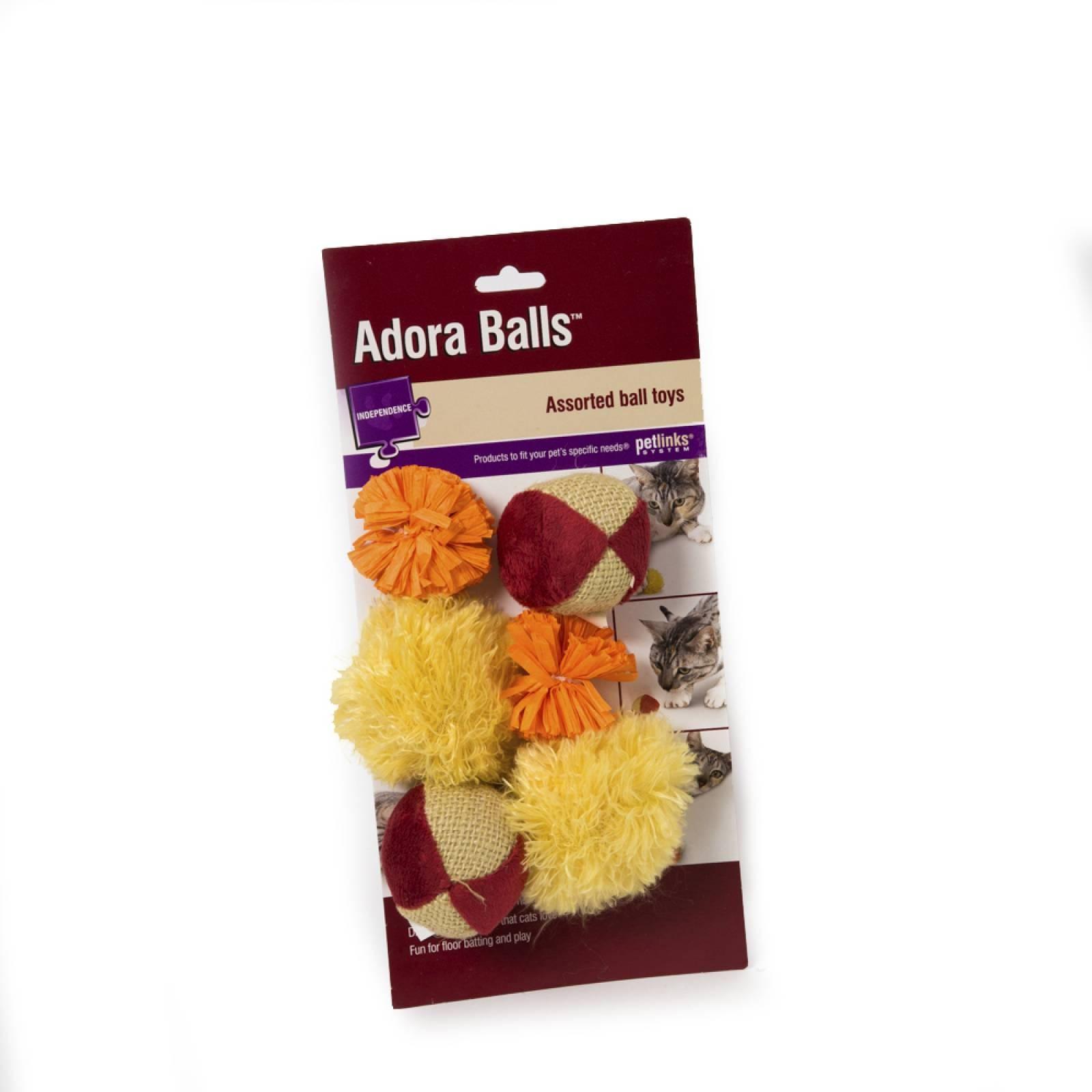 Pelotas de tela para gato Adora Balls
