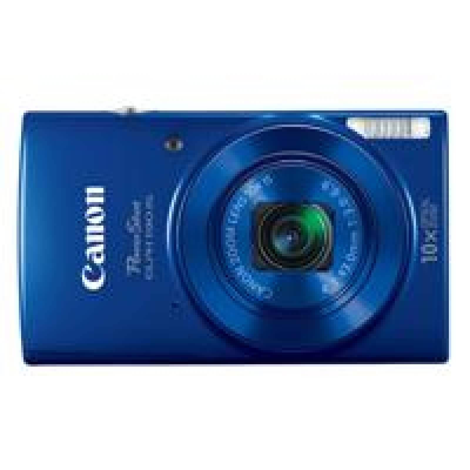 CAMARA CANON POWERSHOT ELPH 190 IS. 20MP 10X ZOOM LCD 2.7 WIFI NFC ESTABILIZAOR AZUL