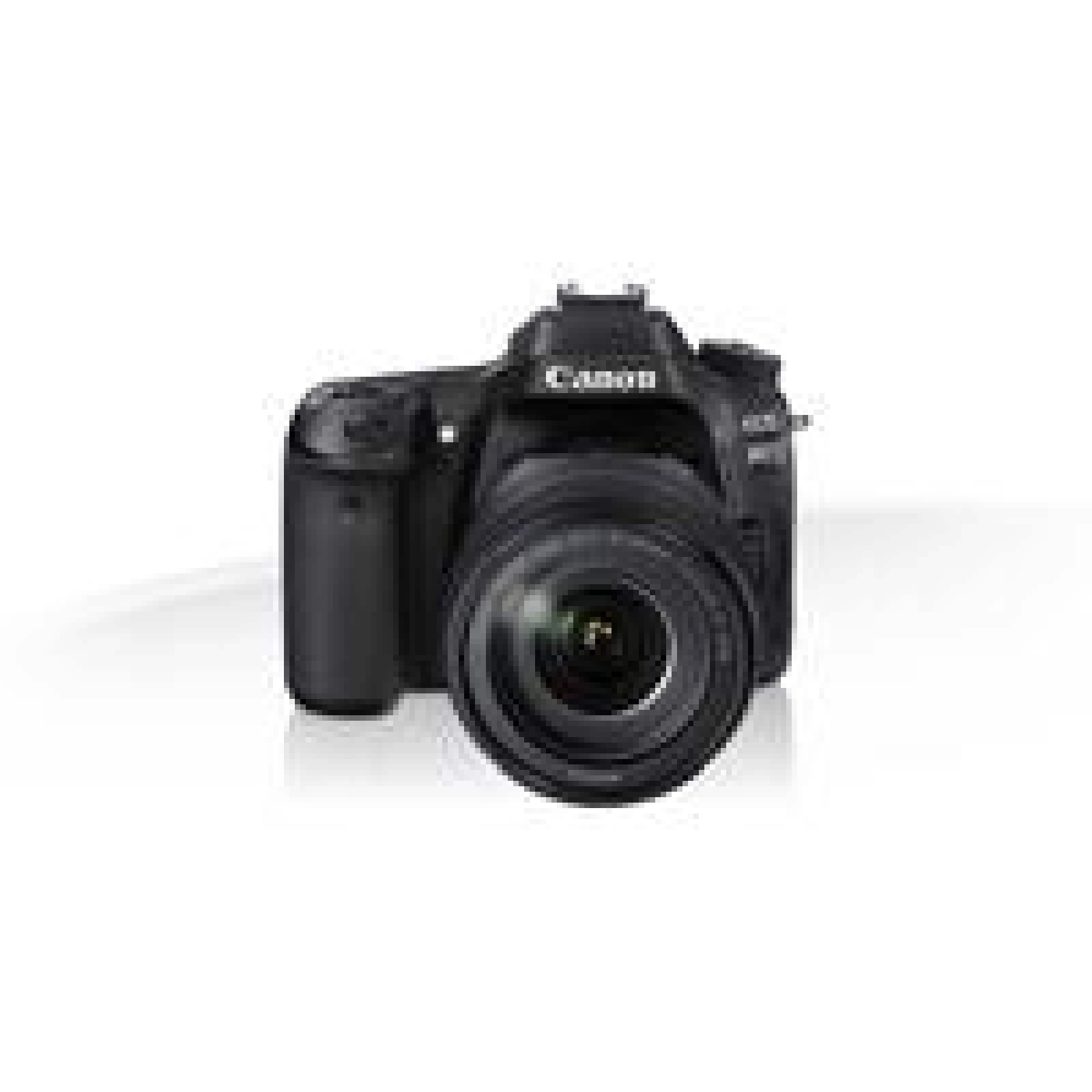 CAMARA CANON EOS REFLEX 80D 24.2 MP LCD 3.0 WIFI NFC LENTE EF 18-135 MM IS V. FULL HD