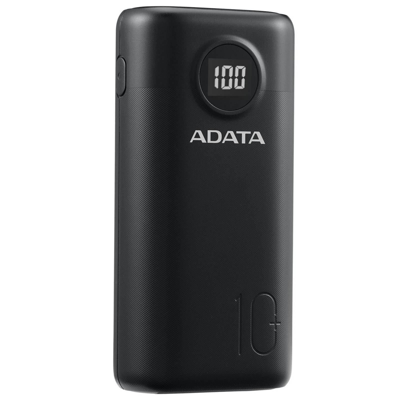 Power Bank 20000MAH ADATA P20000QCD Bateria Portatil Tipo C AP20000QCD-DGT-CBK