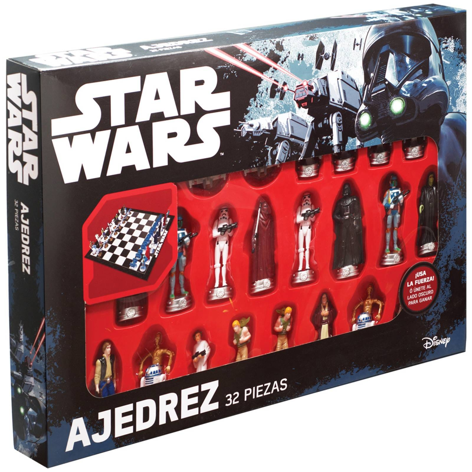 AJEDREZ STAR WARS 3D