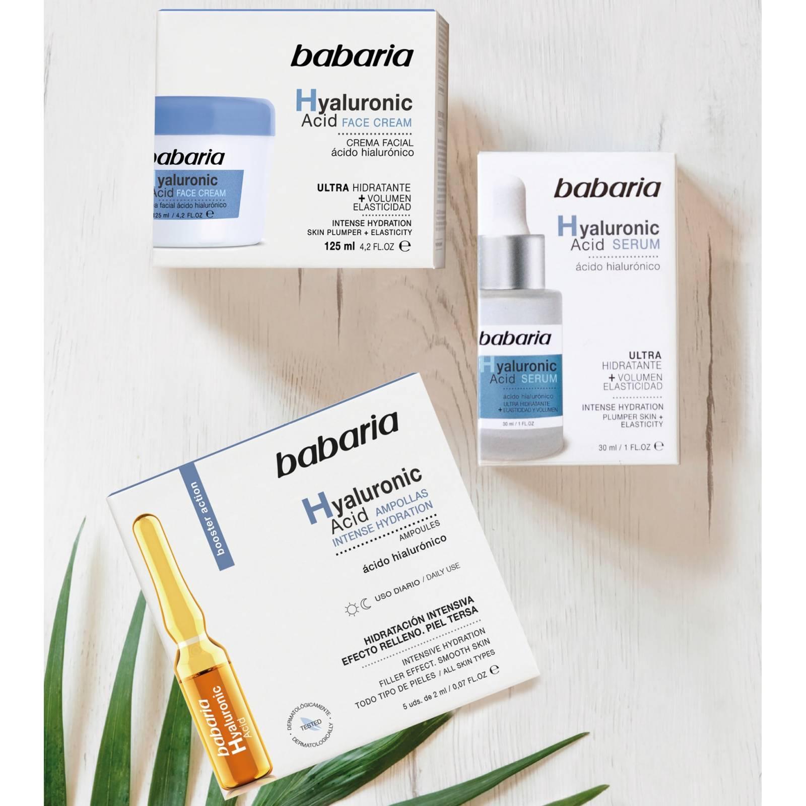 Tratamiento Facial de Ácido Hialurónico Hidratación Intensa + Efecto relleno