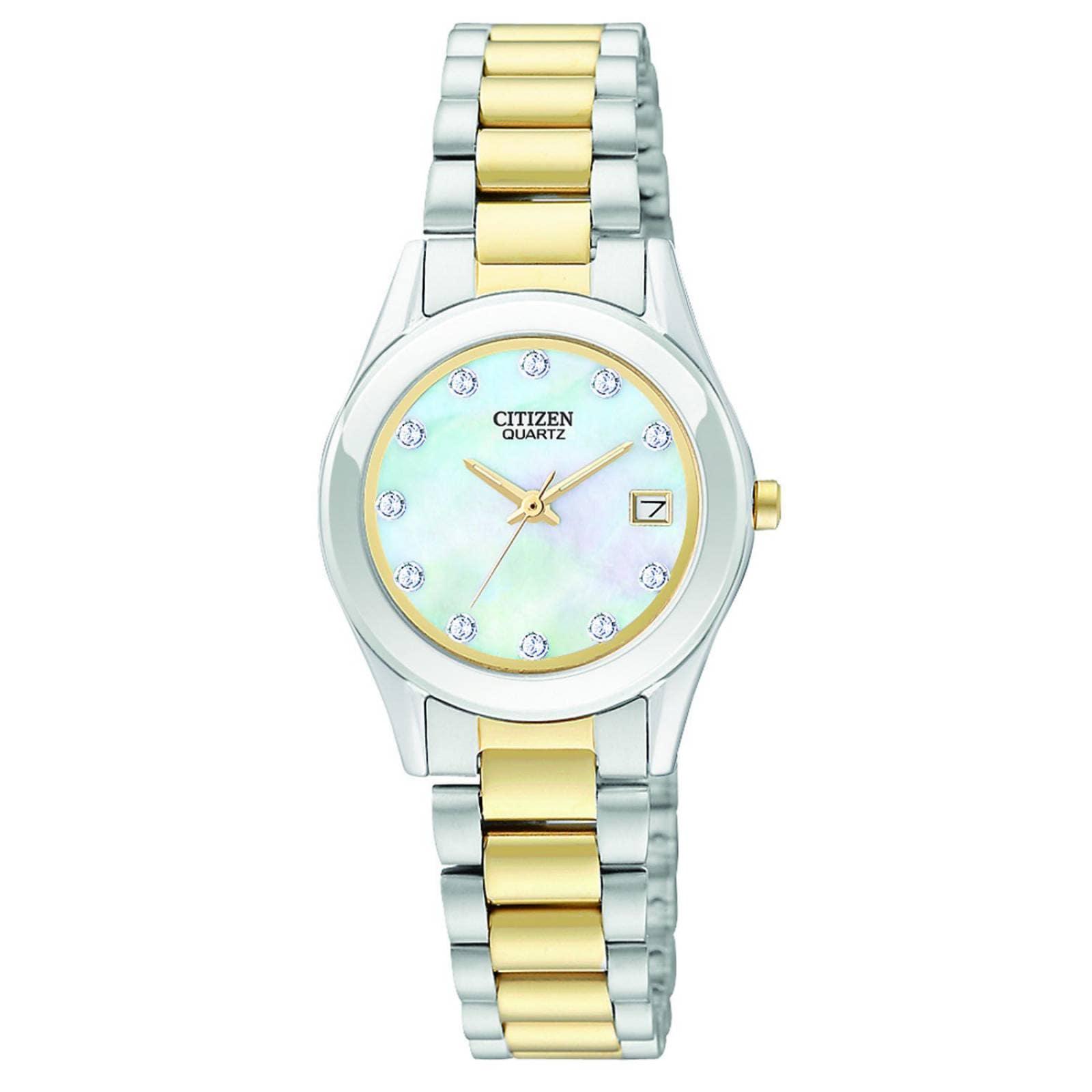 c0f9fee41f11 Reloj citizen dama quartz collection