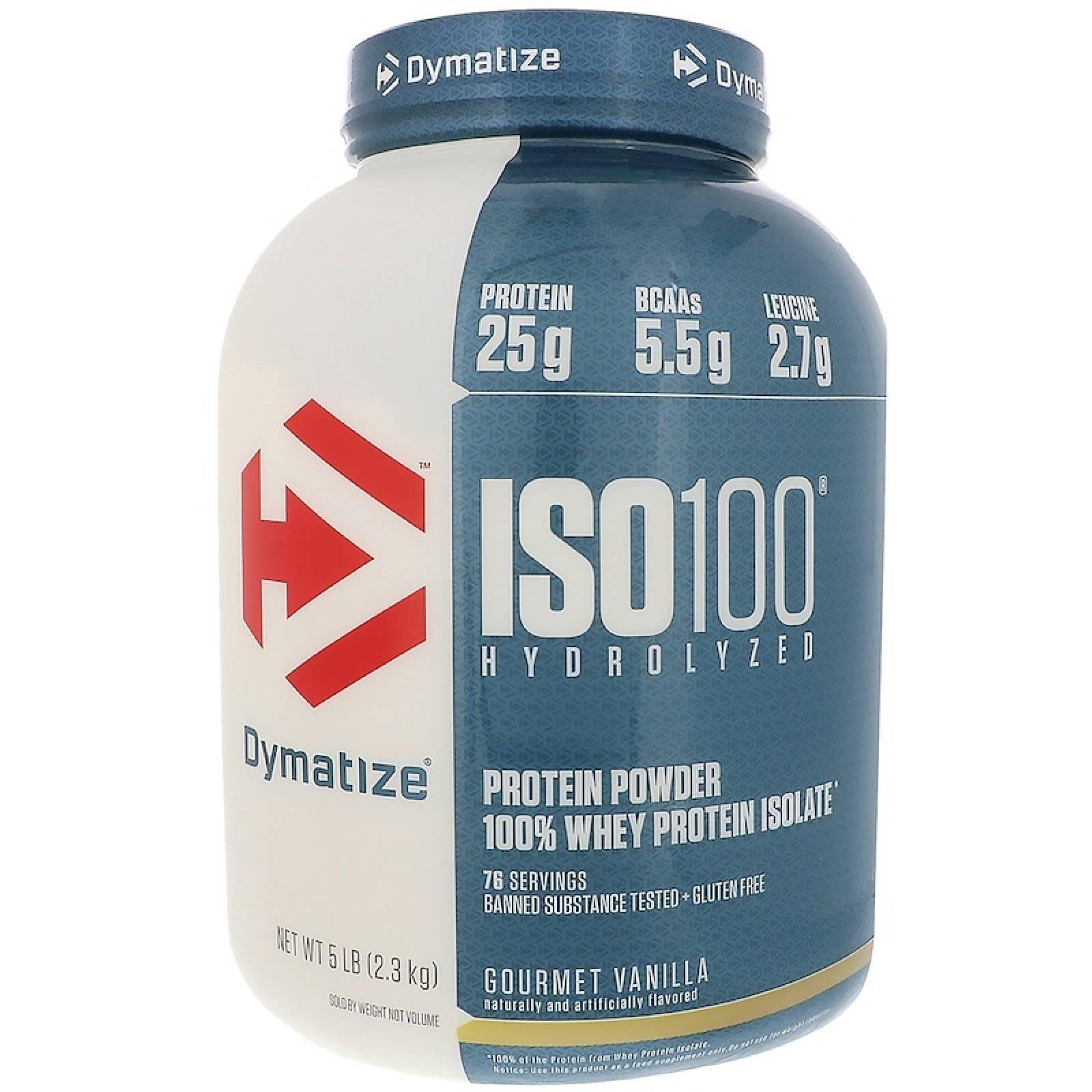 Proteina Dymatize Iso 100  5lbs Sabor Vainilla