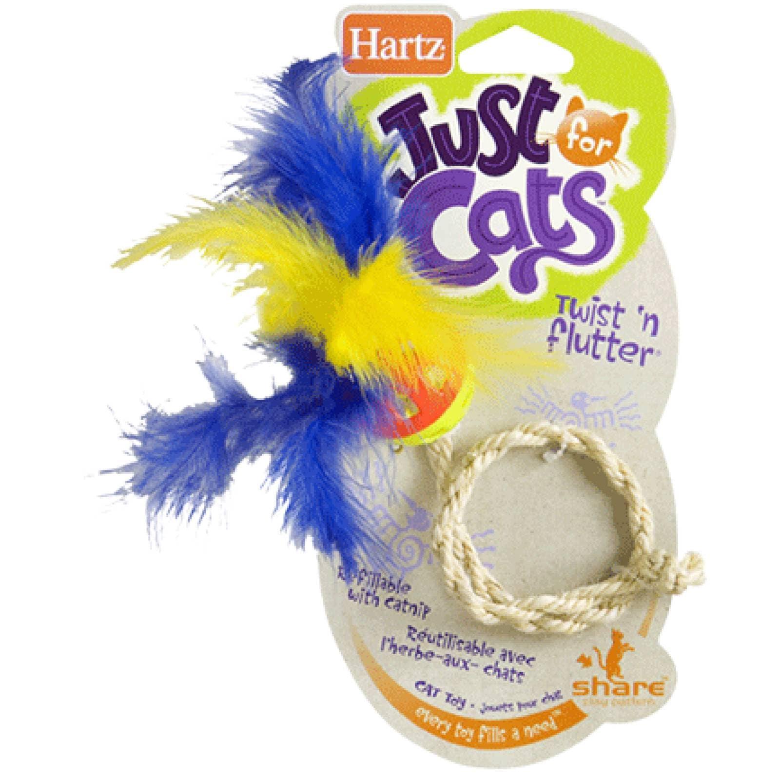 Hartz Juguete para Gato Just for Cats Twistn Flutter