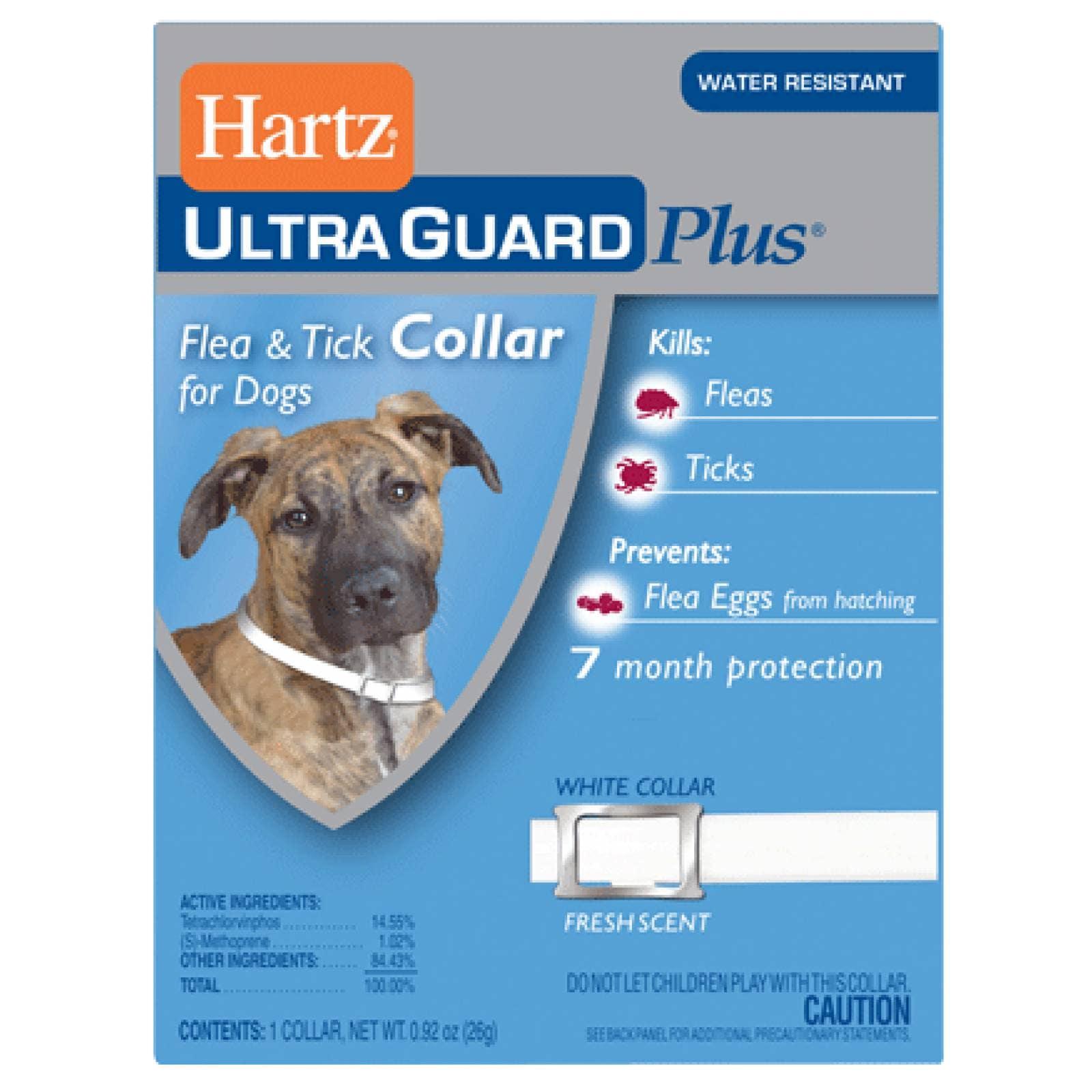 Hartz Collar Antipulgas Plus 3 en 1 para Perros 7 meses
