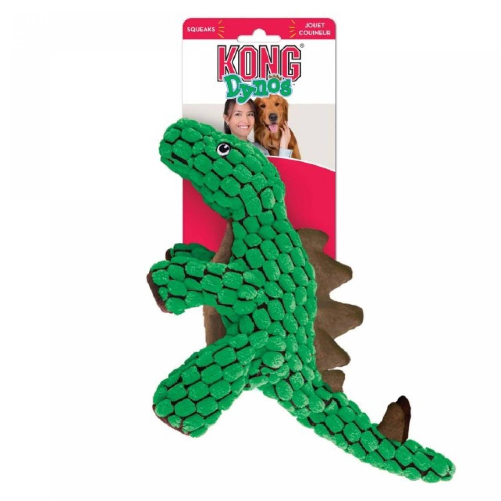 Kong Dyno Peluche para Perro Stegosaurio Verde ch
