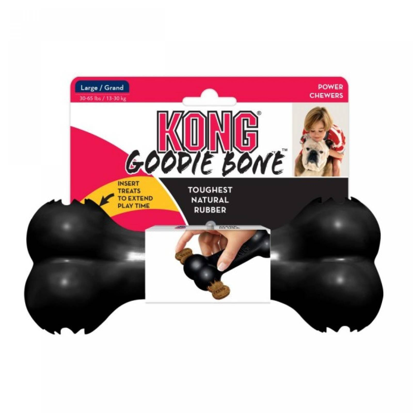 Kong Extreme Hueso de Caucho Reforzado para Perro