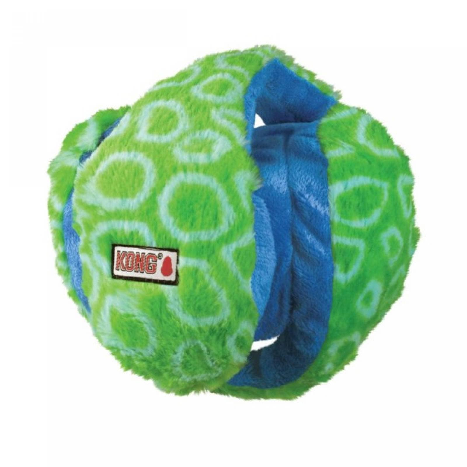 Kong Funzler Pelota para Perro Azul-Verde Med