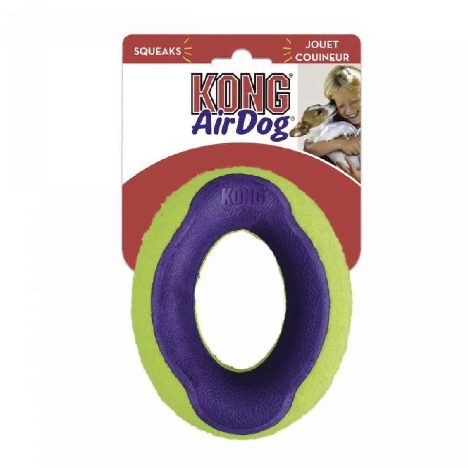 Kong Air Squeaker Ovalado para Perro Gde