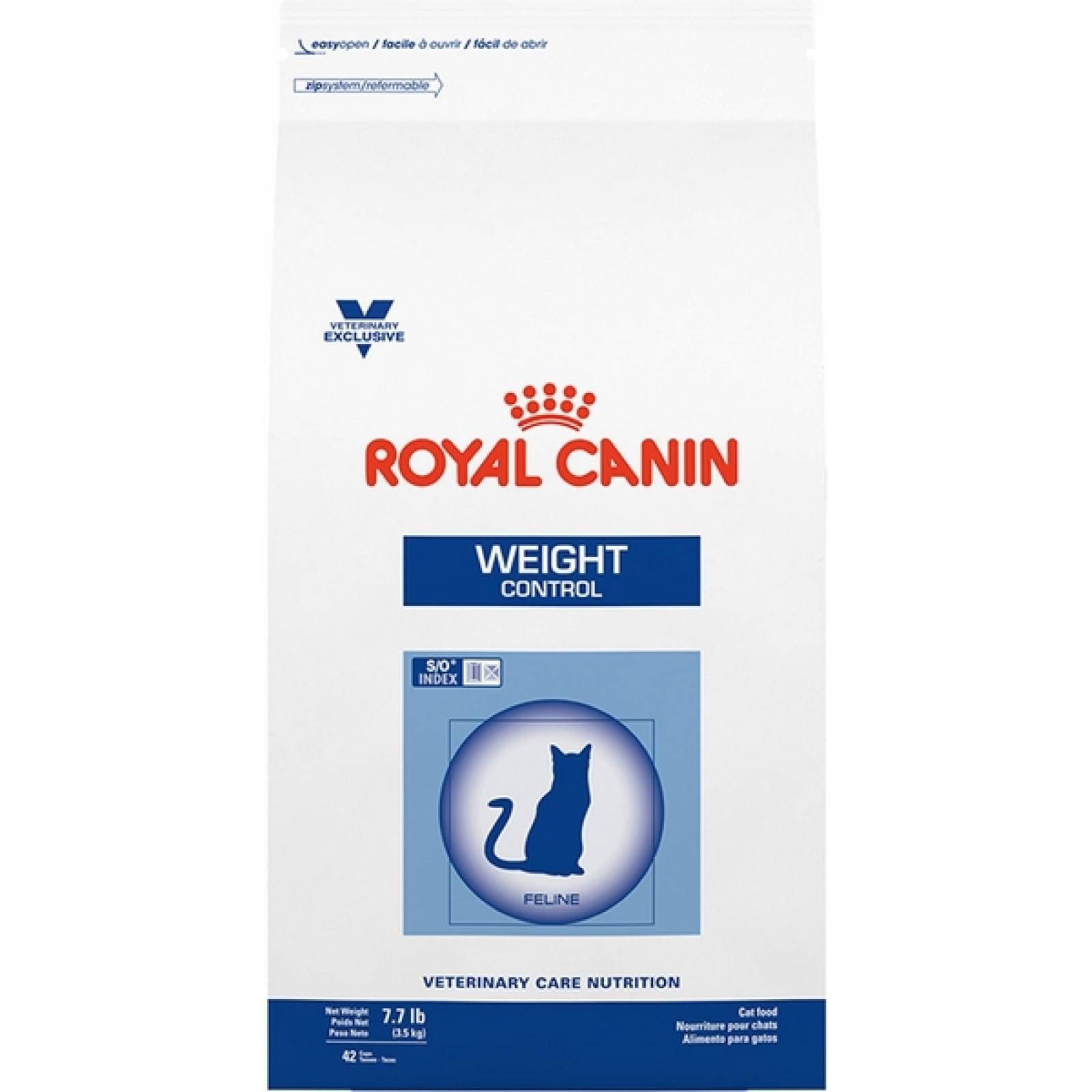 Royal Canin Dieta Veterinaria Alimento para Gato Adulto Control de Peso 8 Kg