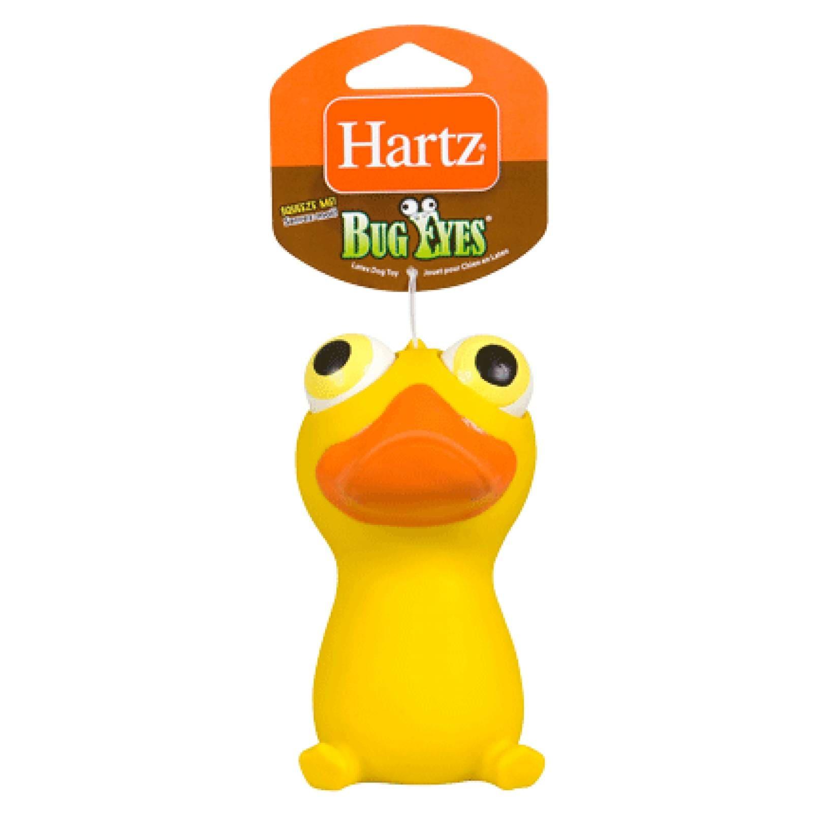 Hartz Juguete para Perro Pato con Ojos Saltones