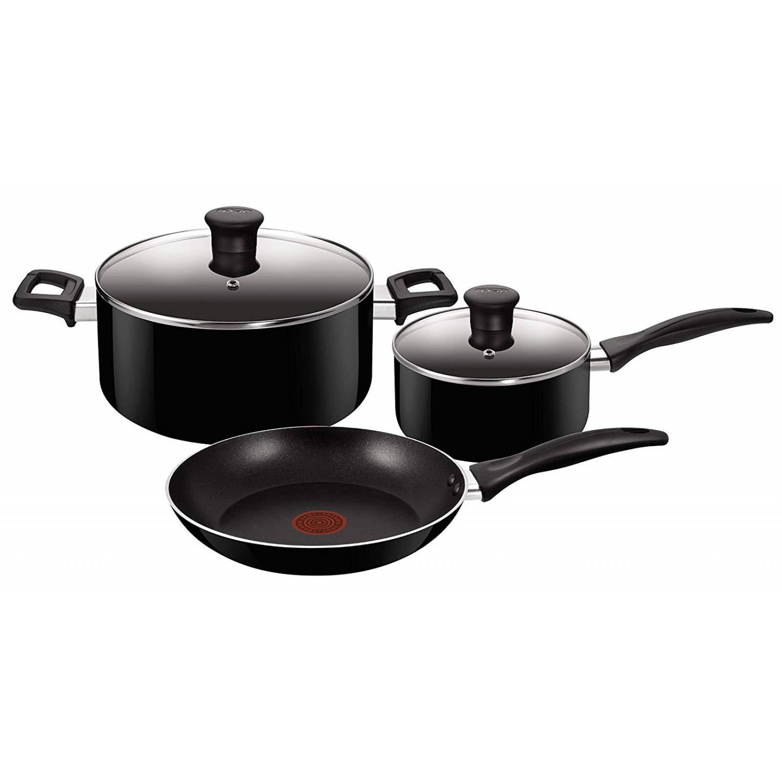 Bateria de Cocina T-Fal Family Cook 5 Piezas