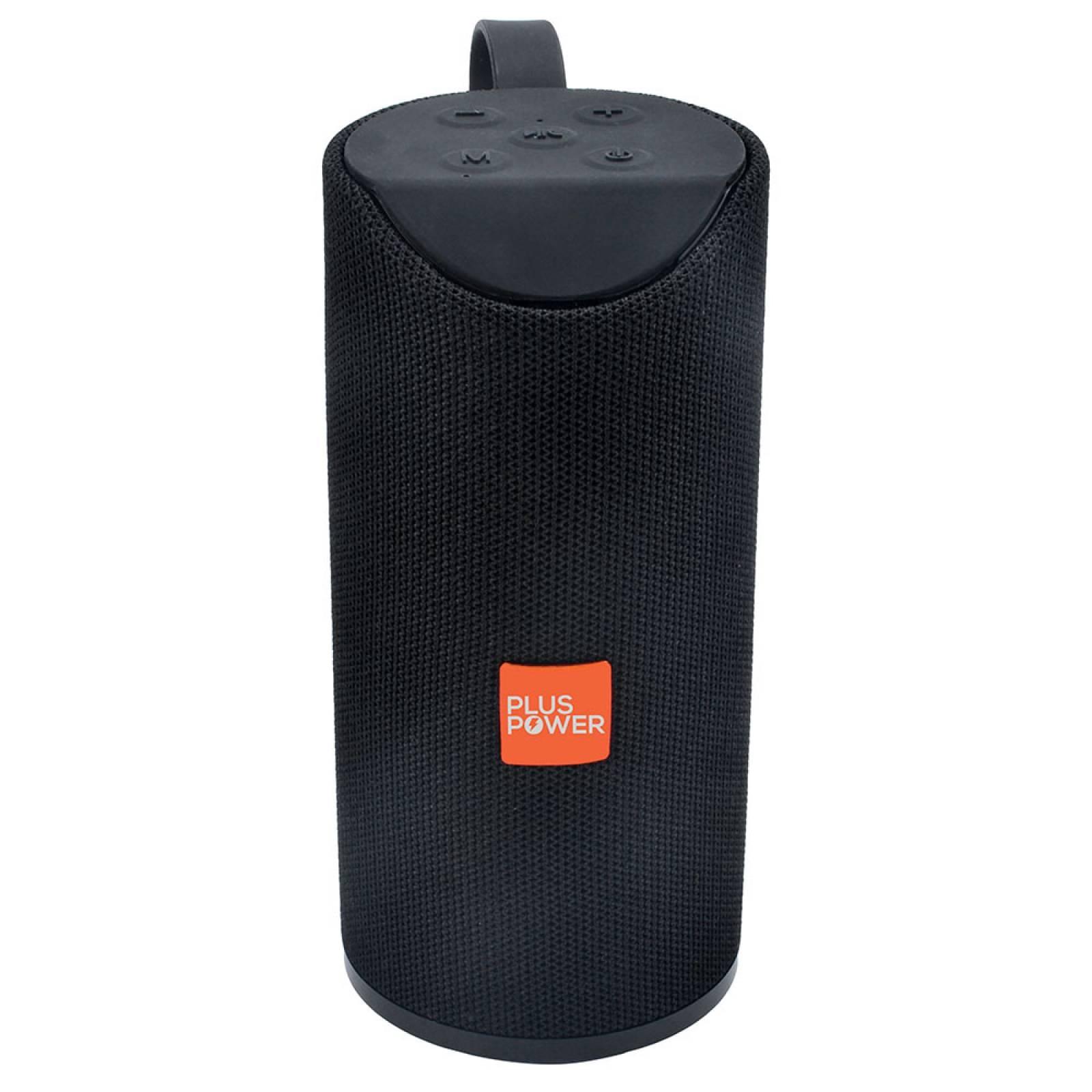 -bocina Bluetooth Plus Power 200w Pp-sbt103 Extra Bass Negro