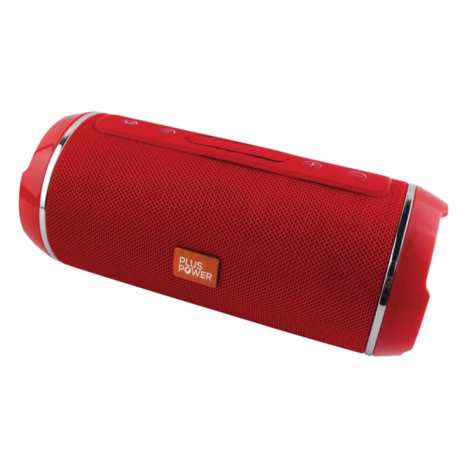 Bocina Bluetooth Portatil Extra Bass Plus Power Sbt107  Roja