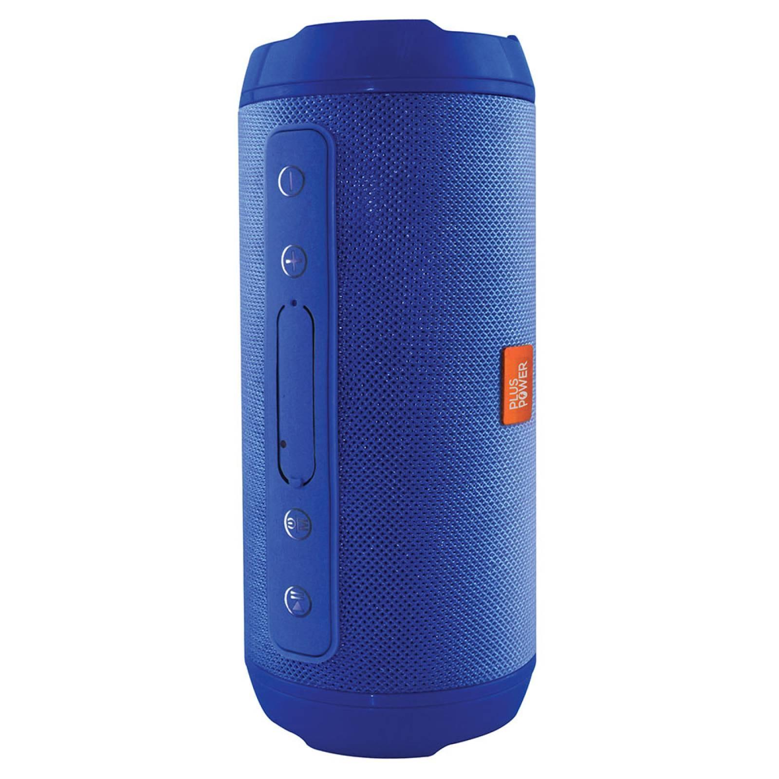 Bocina Bluetooth Portatil Extra Bass Plus Power Sbt107 azul