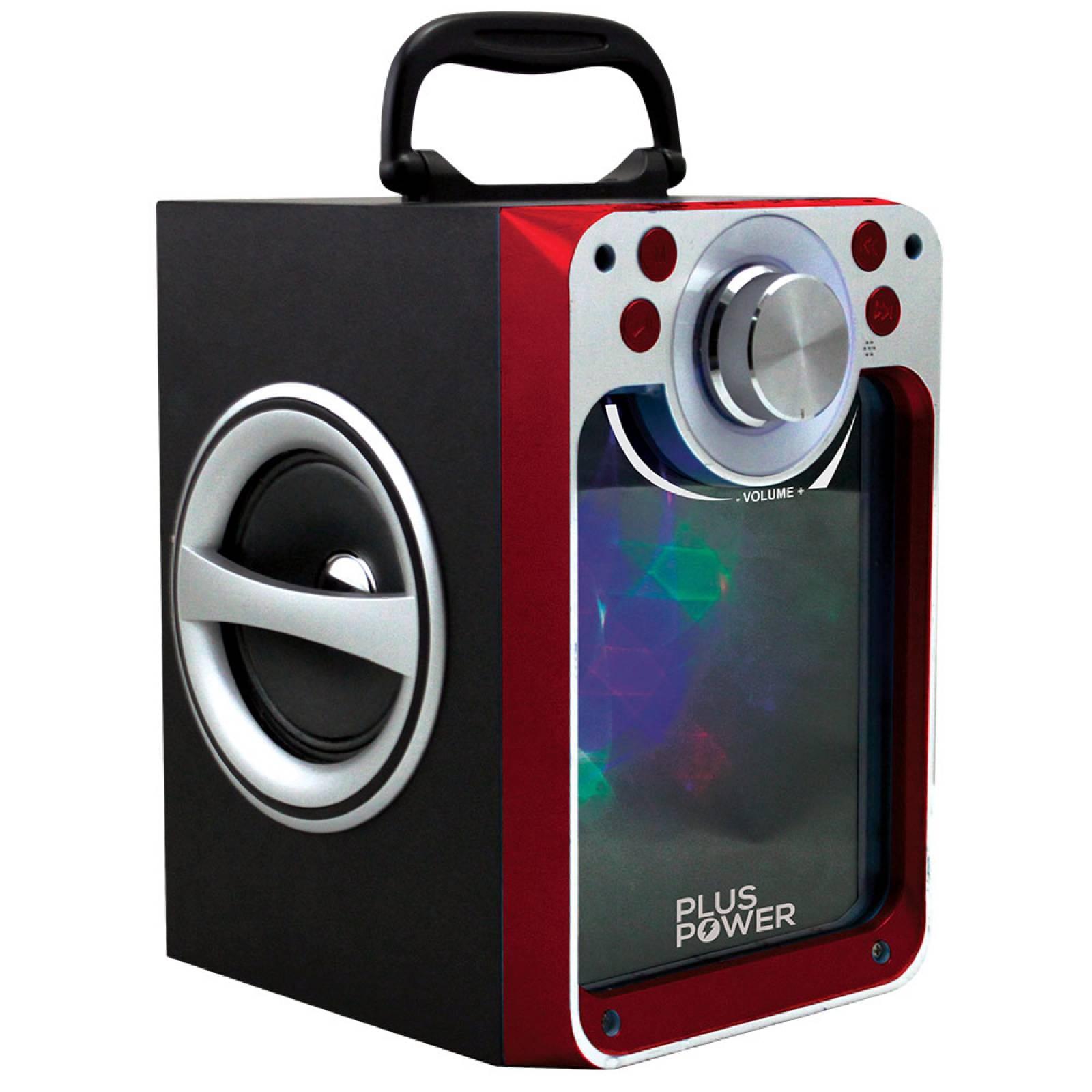 Bocina Portatil Bluetooth Plus Power Usb C/ Luz Led Pp-wbt14
