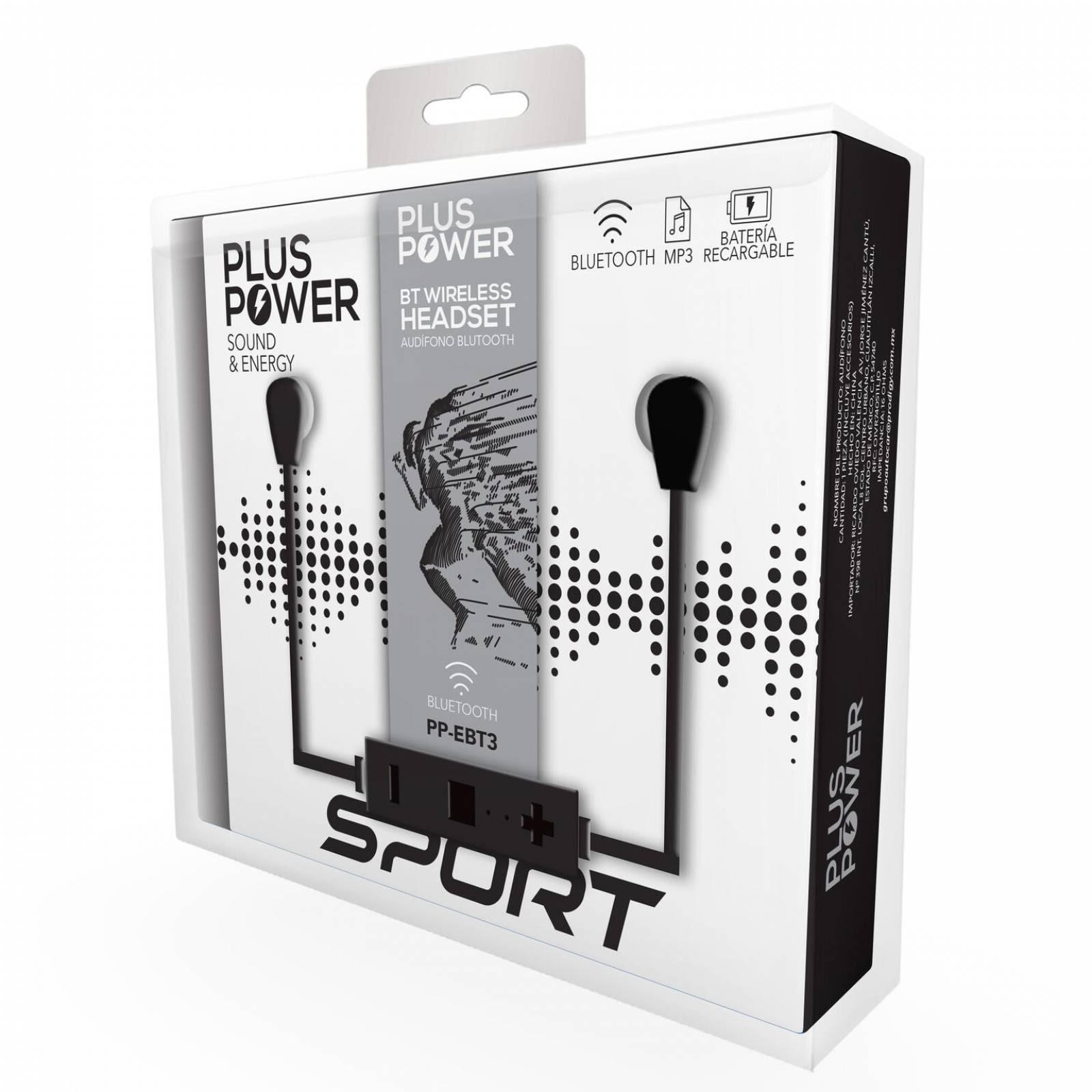 Audifonos Bluetooth manos Libres Plus Power Sport  Pp-ebt3