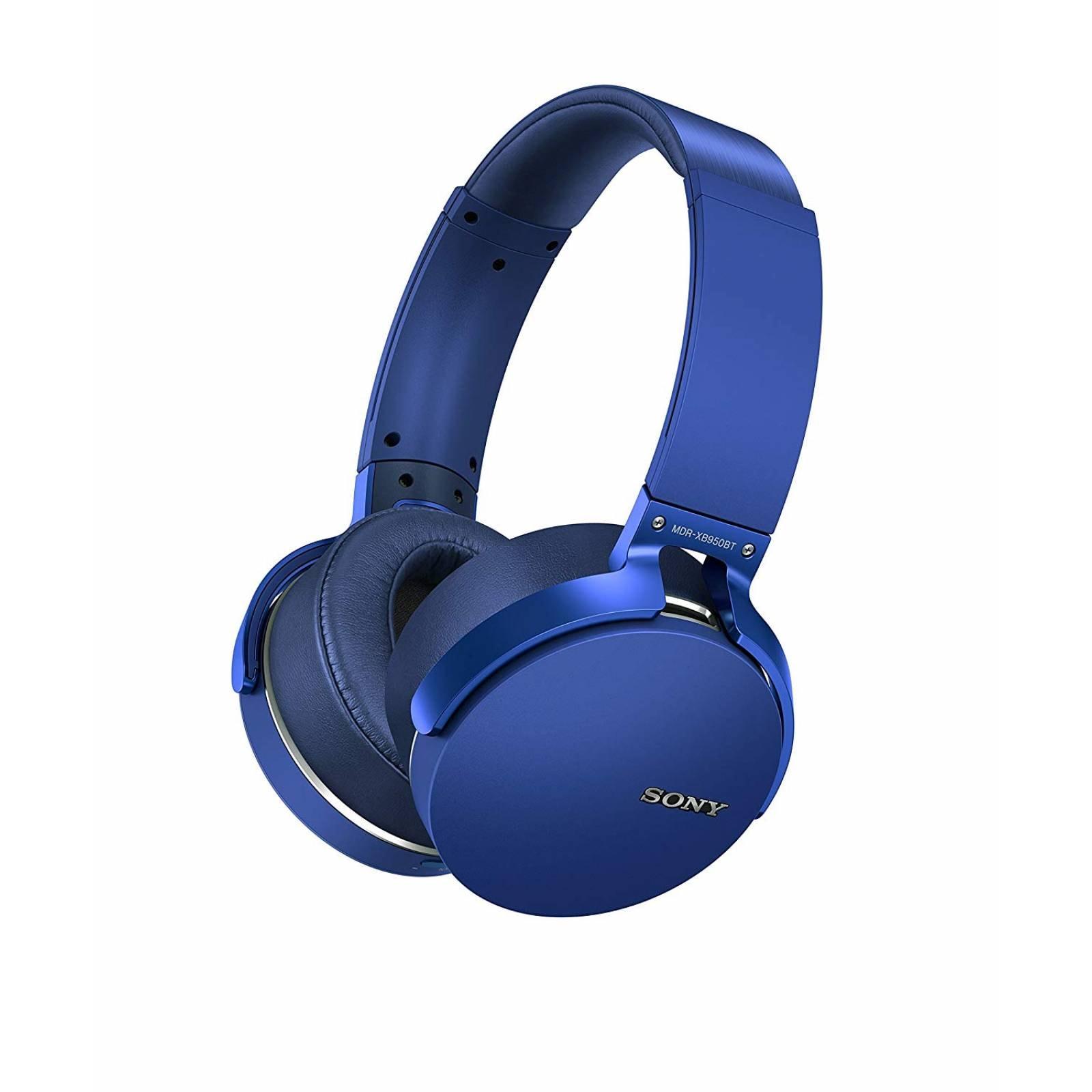 Audifonos inalambricos Sony XB950B1 EXTRA BASS Azul
