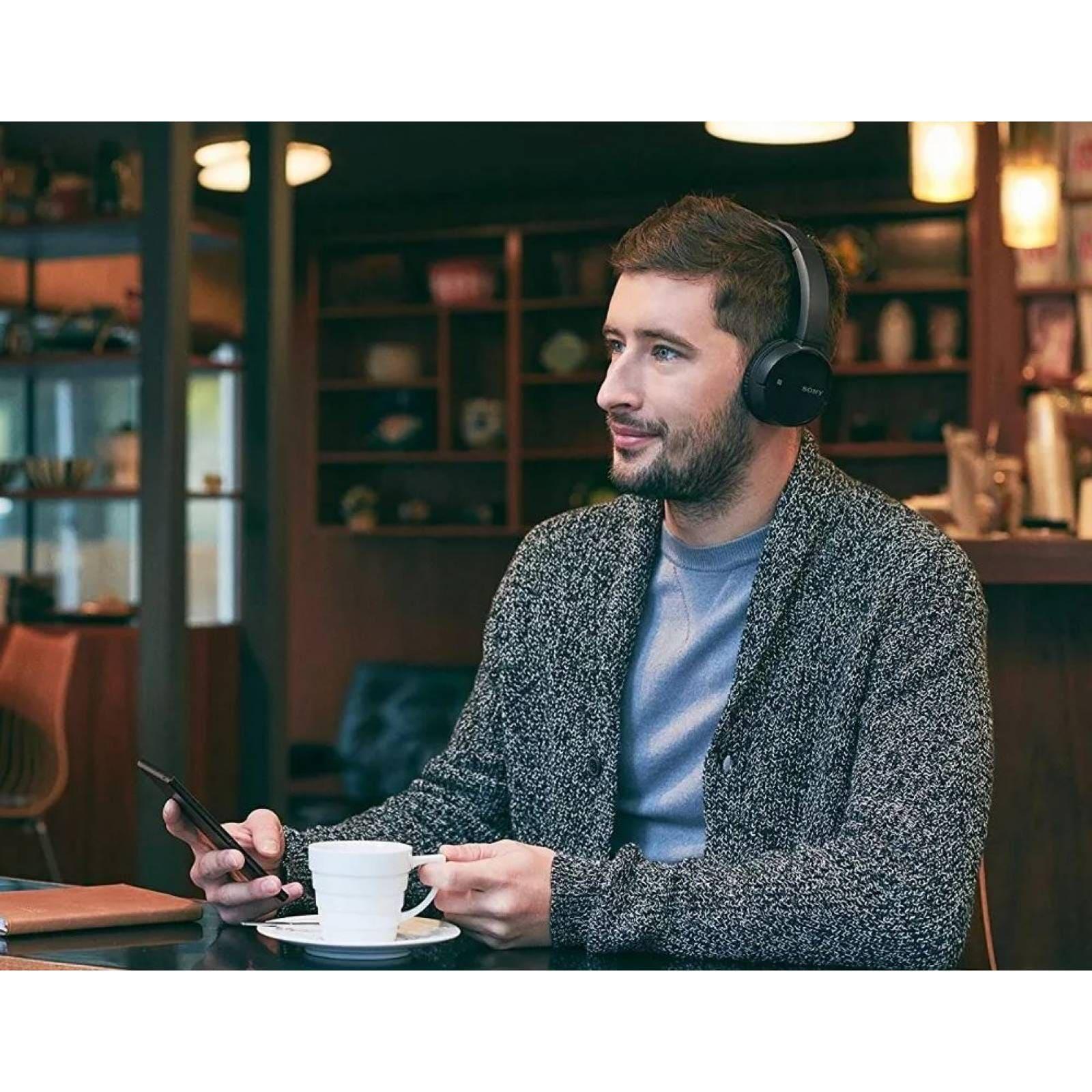 Audifonos Inalámbricos Sony Bluetooth Manos Libres Wh-ch500 Negro