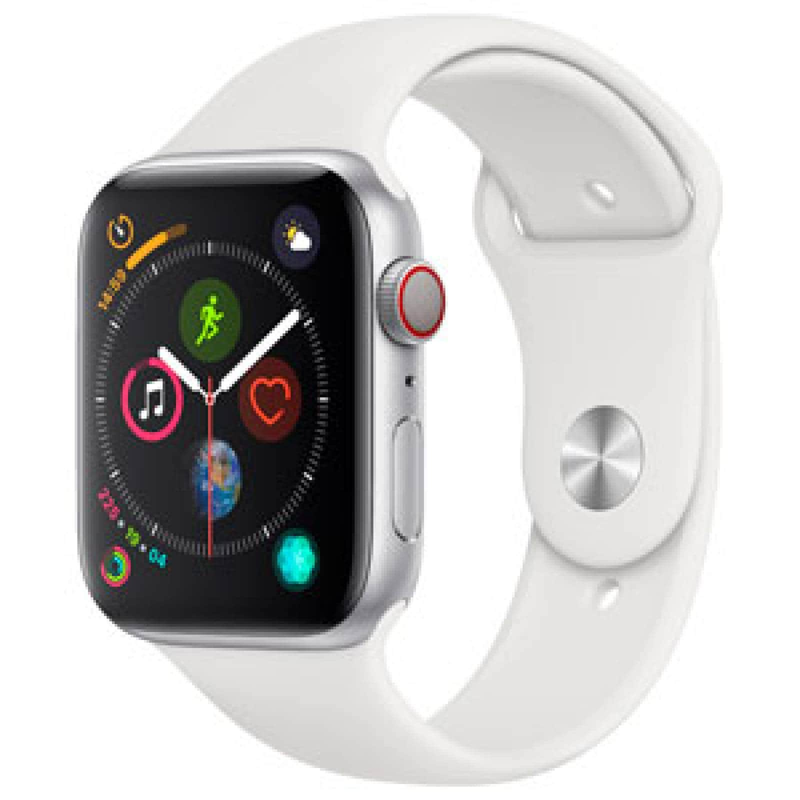Apple Watch Series 4 Reloj Inteligente 44mm Nuevo Gps Plata
