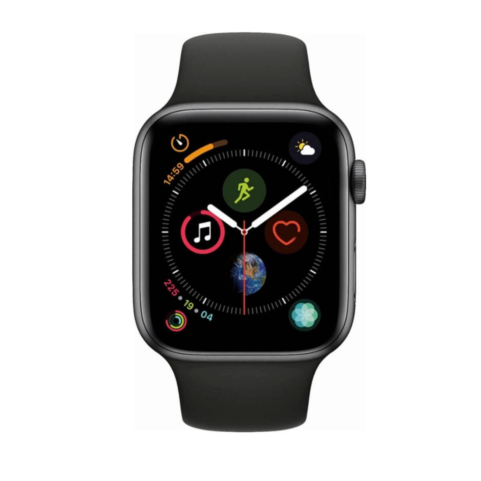 Apple Watch Series 4 Reloj Inteligente 44mm Nuevo Gps Gris oscuro