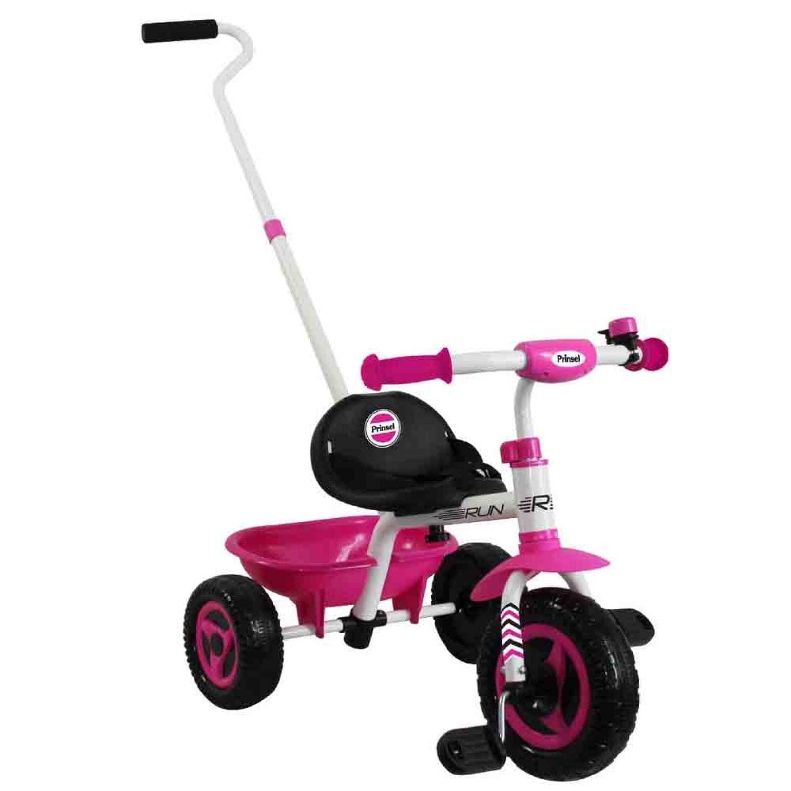 Triciclo Run Niña 4 Posiciones? 2 A 5 Años Rosa Prinsel