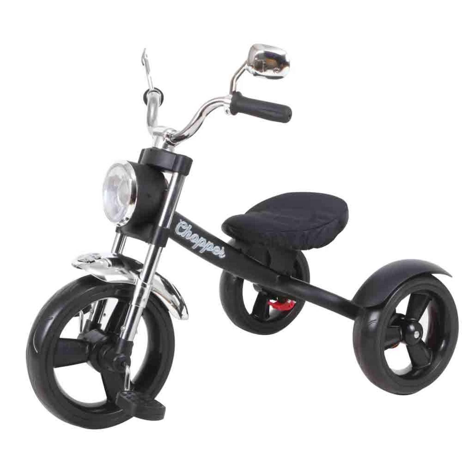 Triciclo Rebeld? Basic Niño 2 A 5 Años Metal? Negro Prinsel