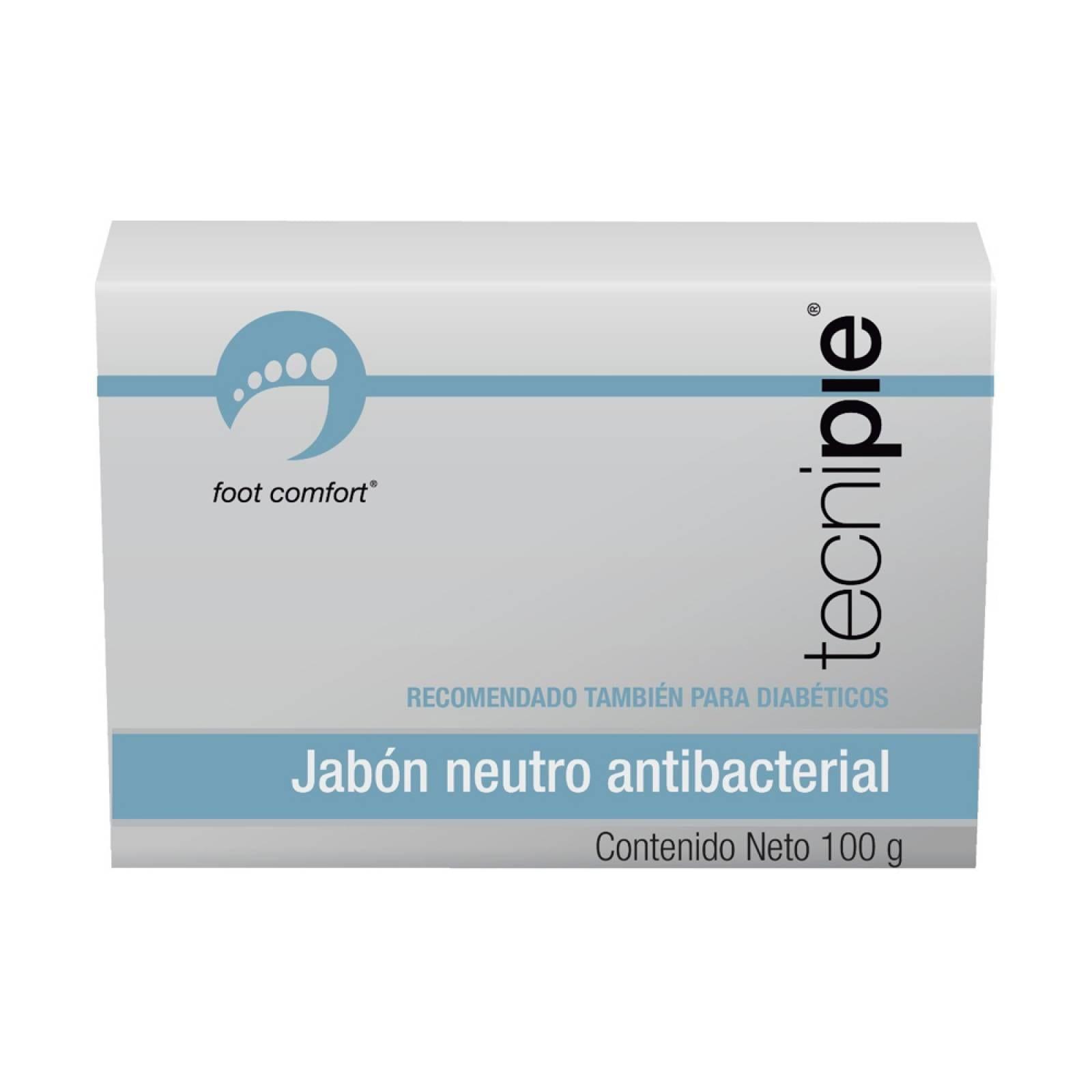 Kit 4 Jabon Neutro Antibacterial Pies Dermolimpia Tecnipie