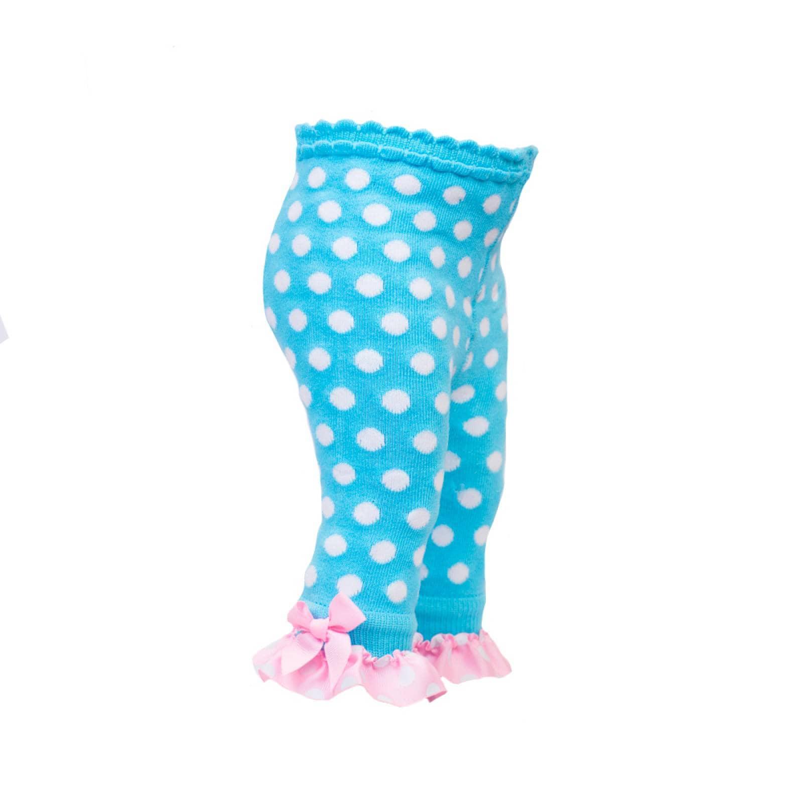 Legging Lunares Olan Tobillo algodón Azul 9-18 Meses Baby Room
