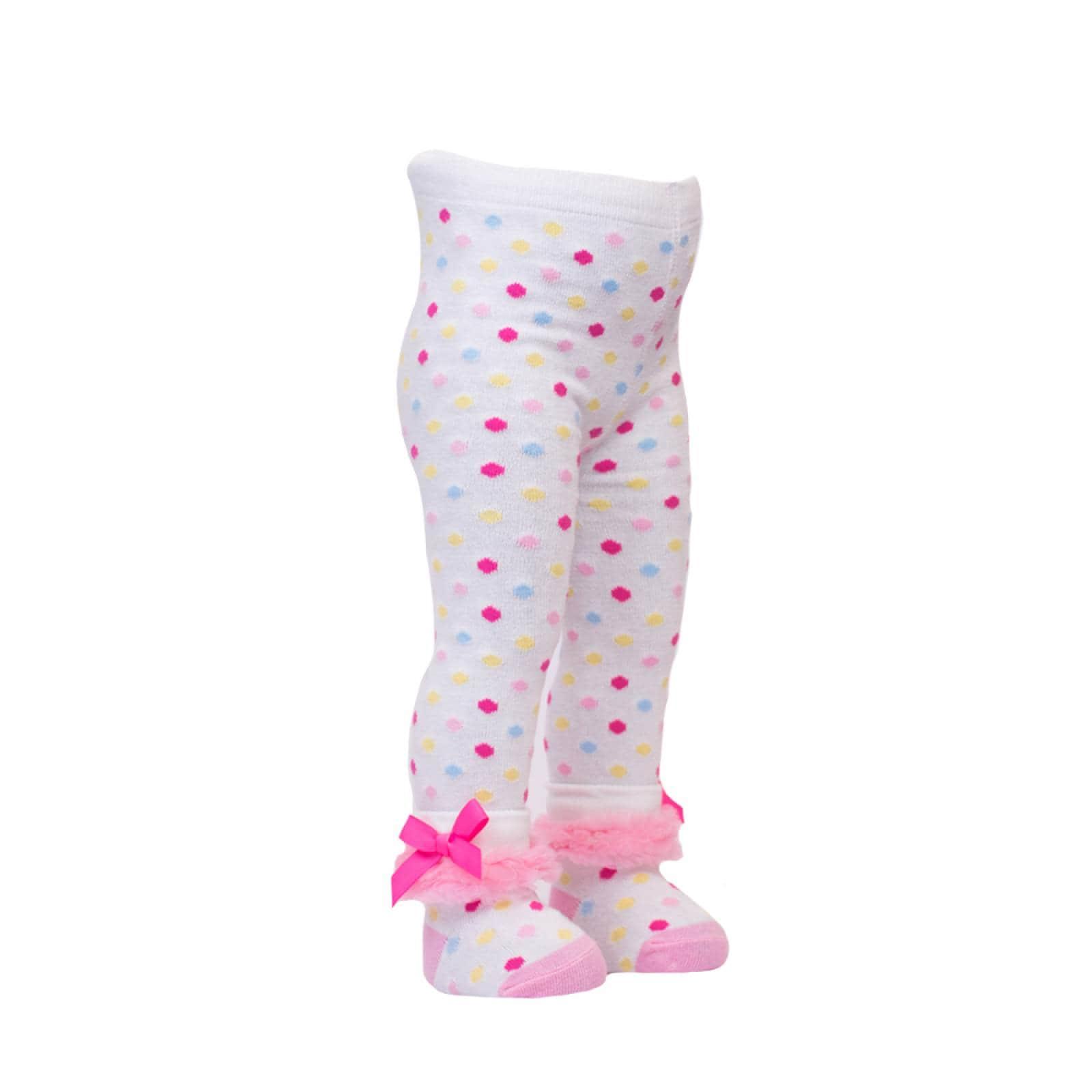 Legging Lunares Olan Tobillo algodón Azul 24-36 Meses Baby Room
