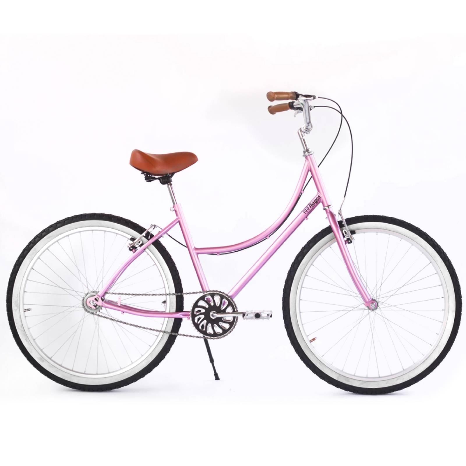 Bicicleta Inglesa Rodada 26 Acero Reflejante Aluminio 144 Rayos Bikes