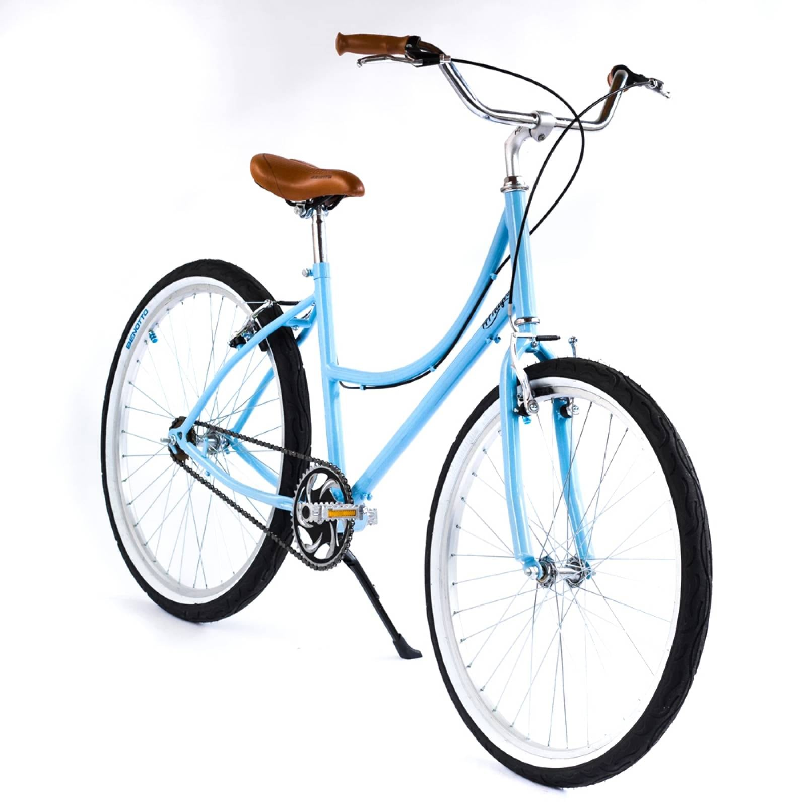 Bicicleta Inglesa Rodada 26 Cuadro Acero Reflejante 144 Rayos Bikes