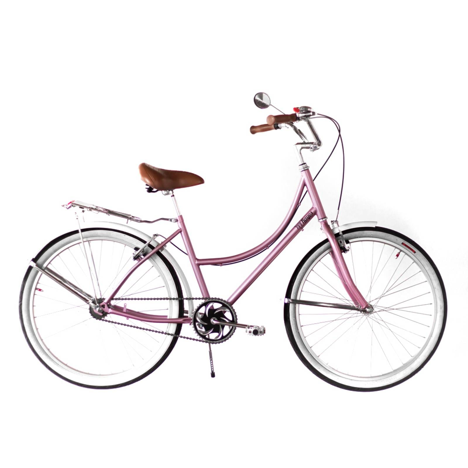 Bici Inglesa36 Rodada 26 Acero Asiento Vinil Manubrio gaviota 144 Rayos Bikes