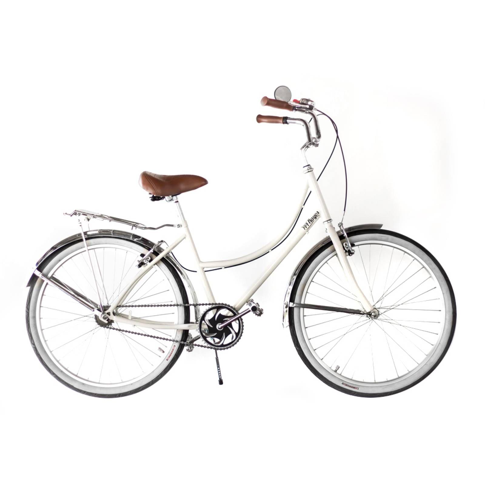 Bici Inglesa36 Rodada 26 Acero Asiento Vinil Pedales Aluminio 144 Rayos Bikes